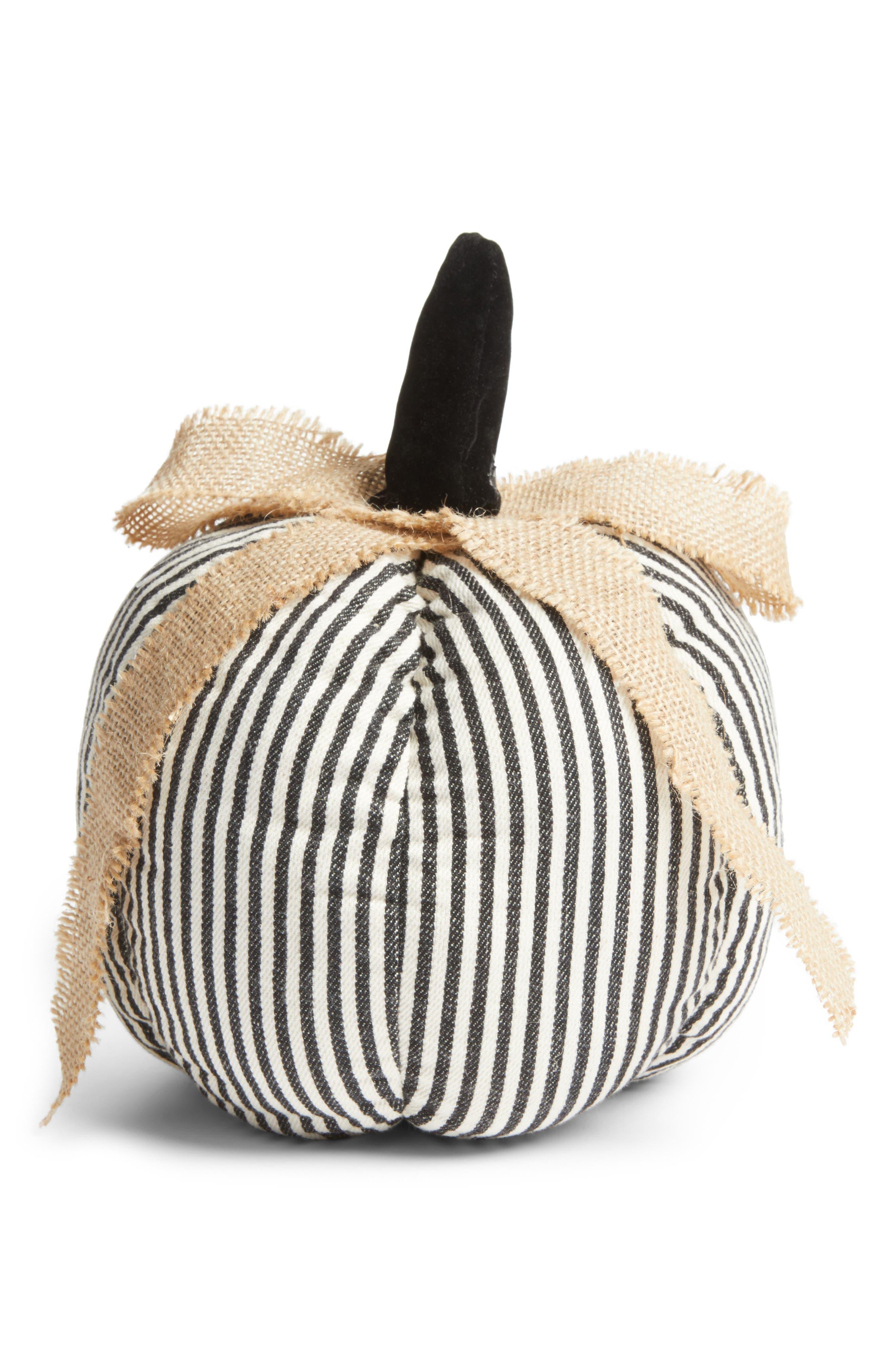 ALLSTATE Burlap Linen Pumpkin
