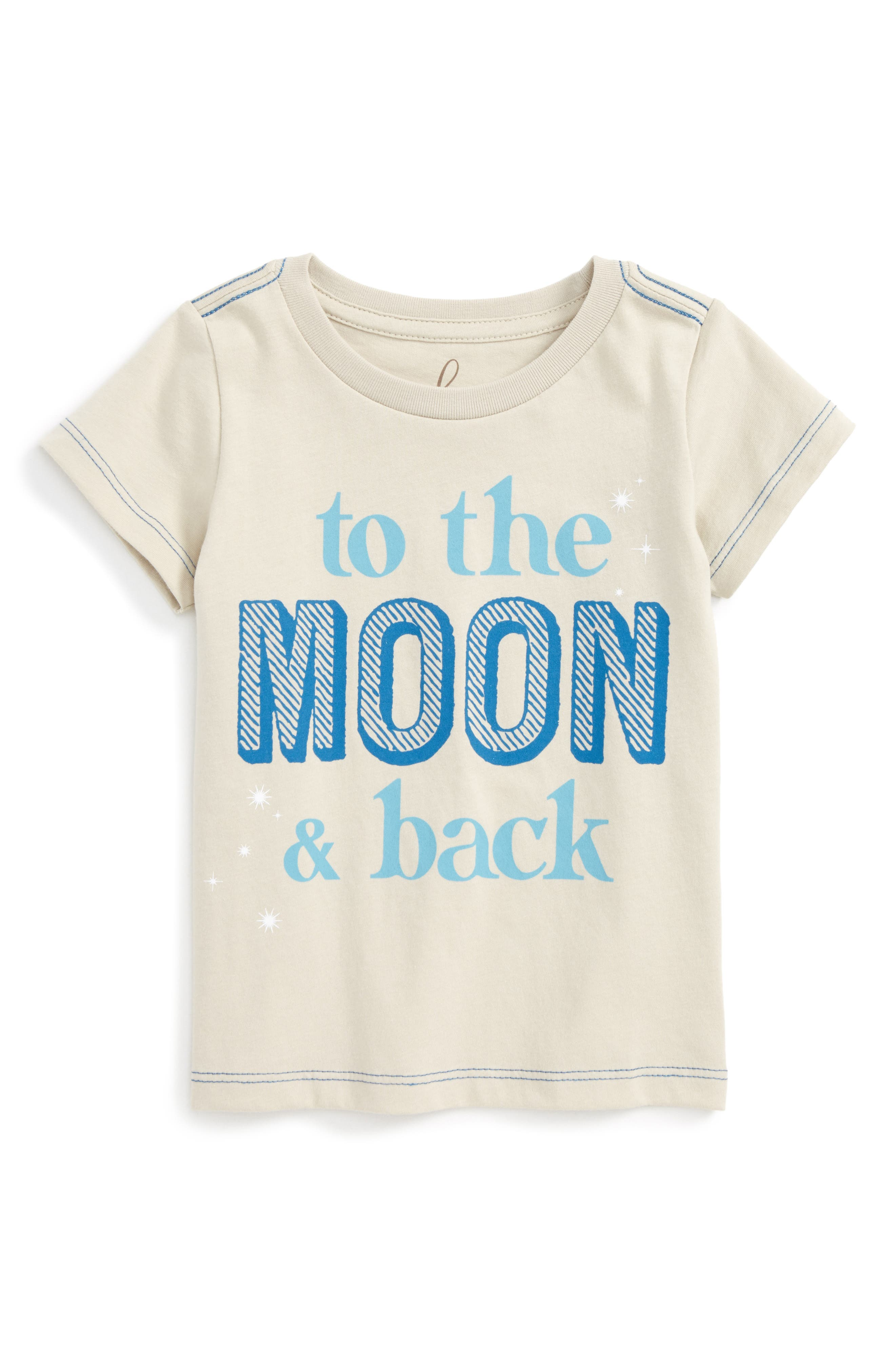 Peek To The Moon And Back Graphic T-Shirt (Baby Boys)