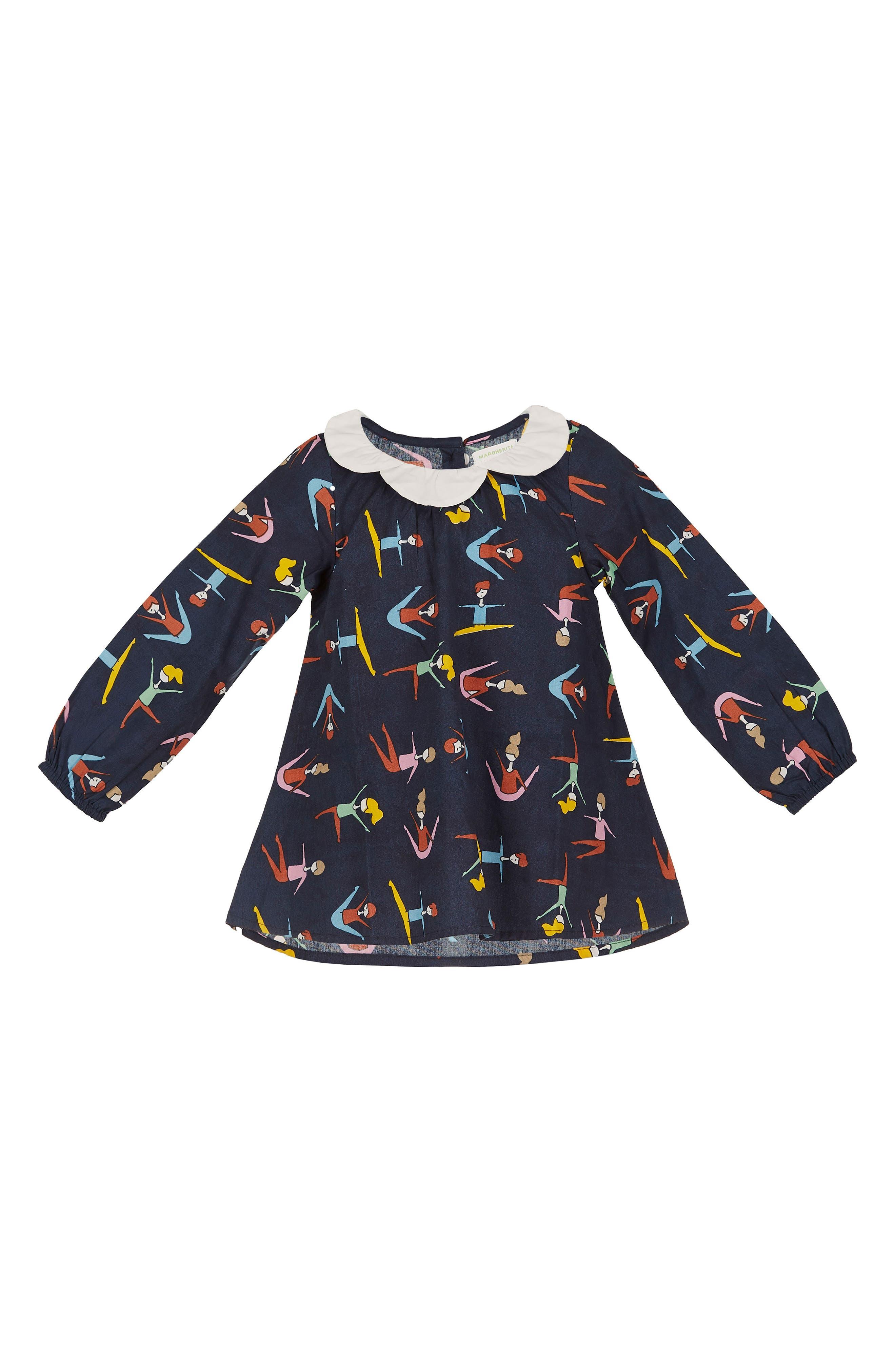 Margherita Stretching Print Top (Toddler Girls & Little Girls)