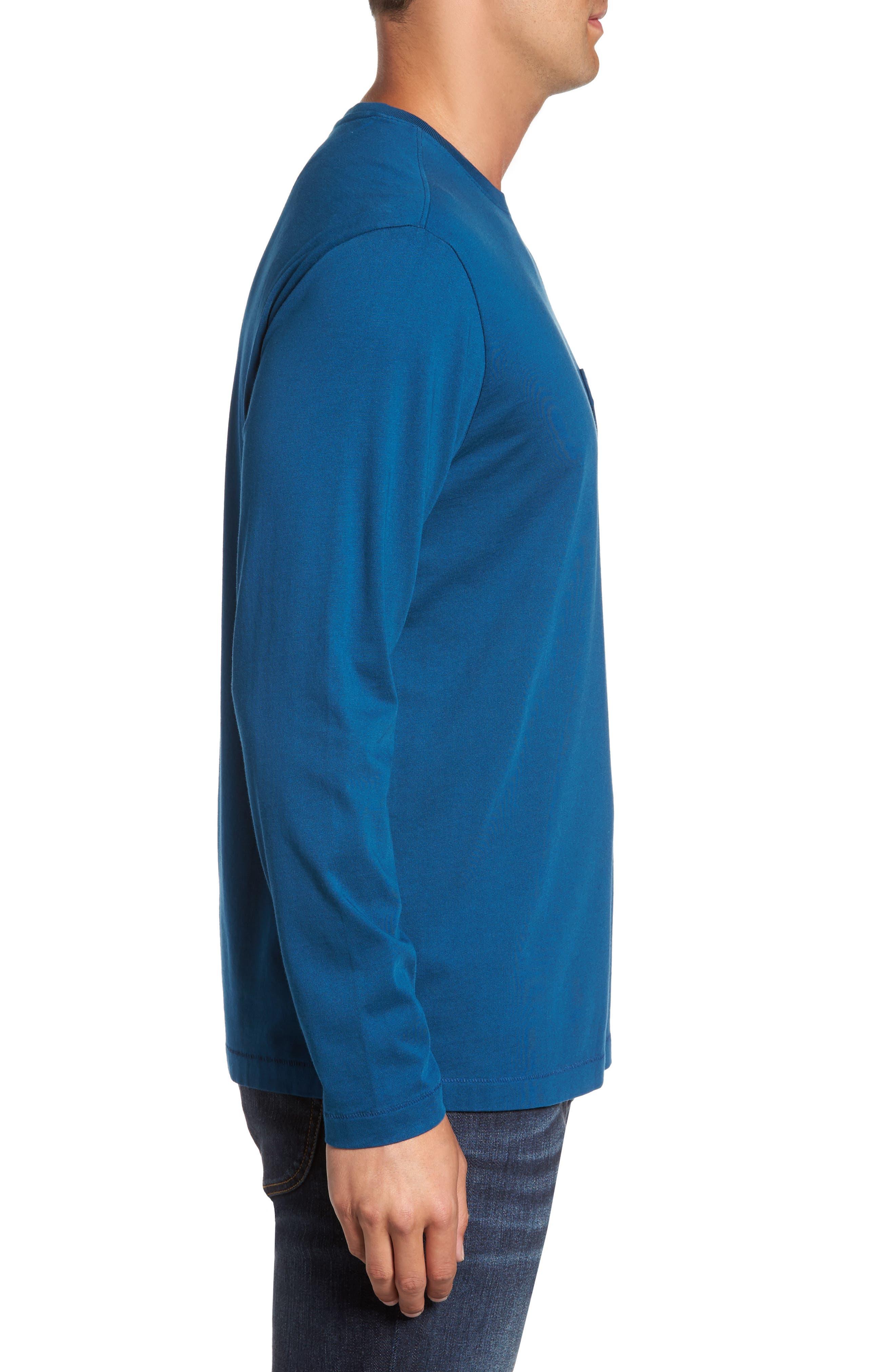 Alternate Image 3  - Tommy Bahama 'Bali Skyline' Long Sleeve Pima Cotton T-Shirt (Big & Tall)