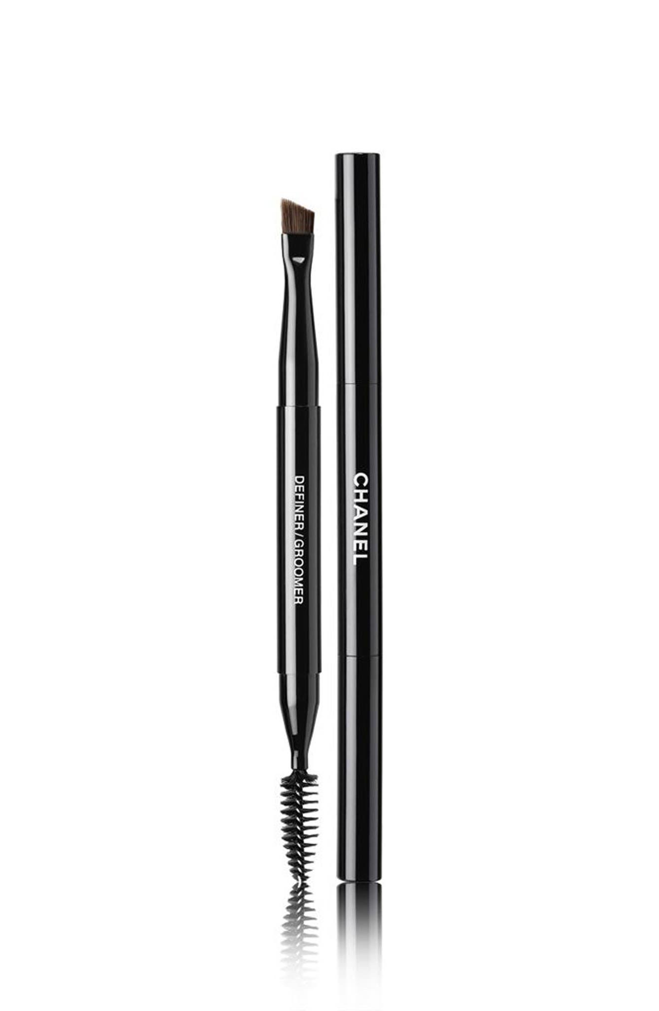 CHANEL LES PINCEAUX DE CHANEL  Retractable Dual-Tip Brow Brush