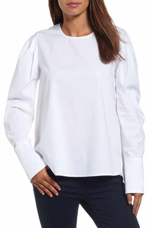 White Shirts & Blouses Work & Business Casual Clothes for Women ...