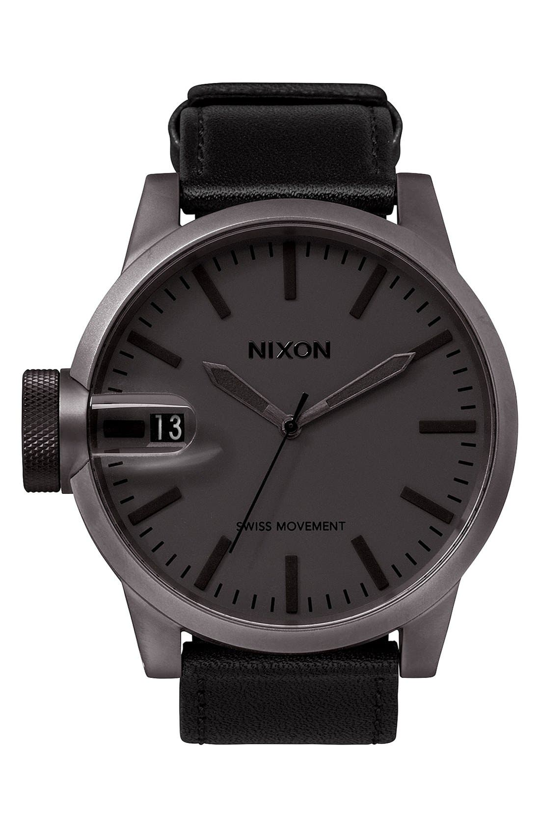 Main Image - Nixon 'The Chronicle' Watch, 48mm