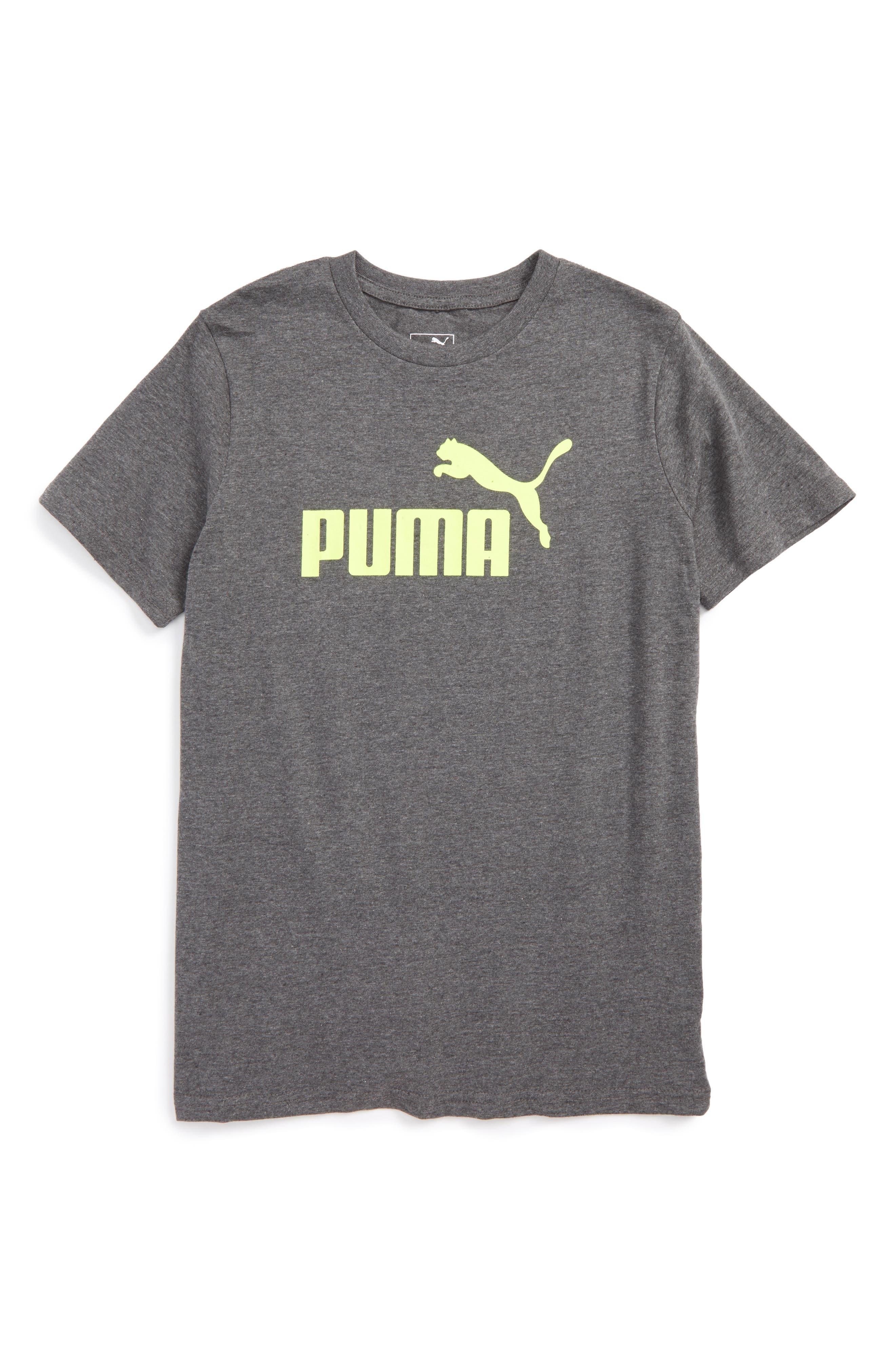 Puma Logo Graphic T-Shirt (Big Boys)