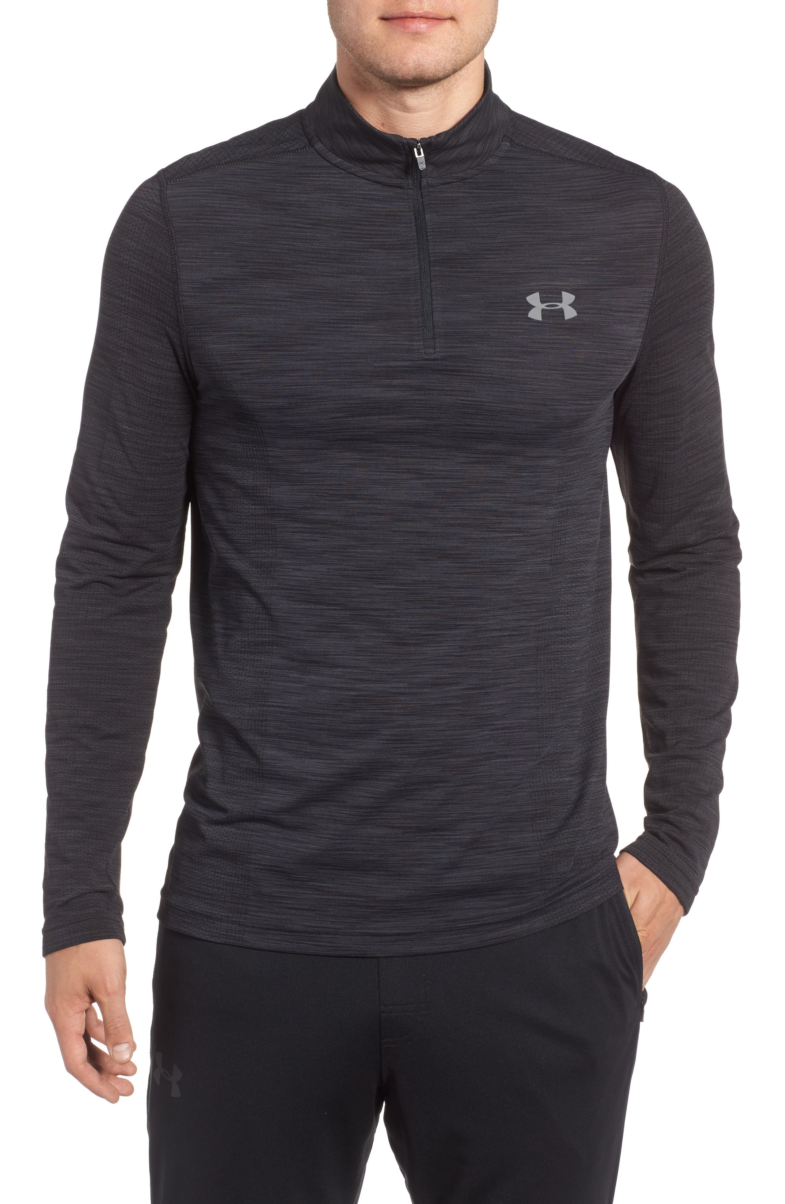 Under Armour Threadborne Seamless Quarter Zip Pullover