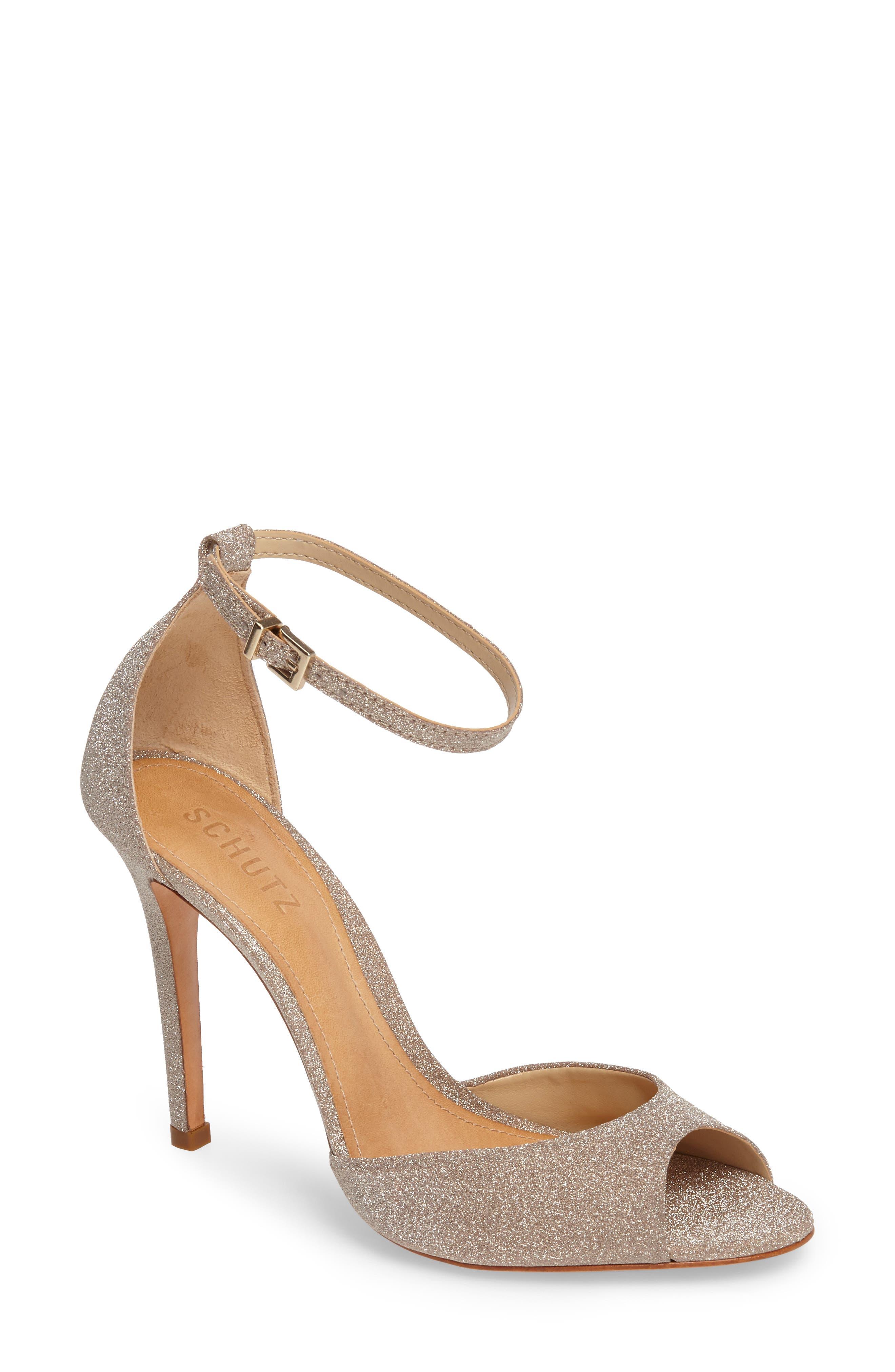 Alternate Image 1 Selected - Schutz Saasha Lee Ankle Strap Sandal (Women)