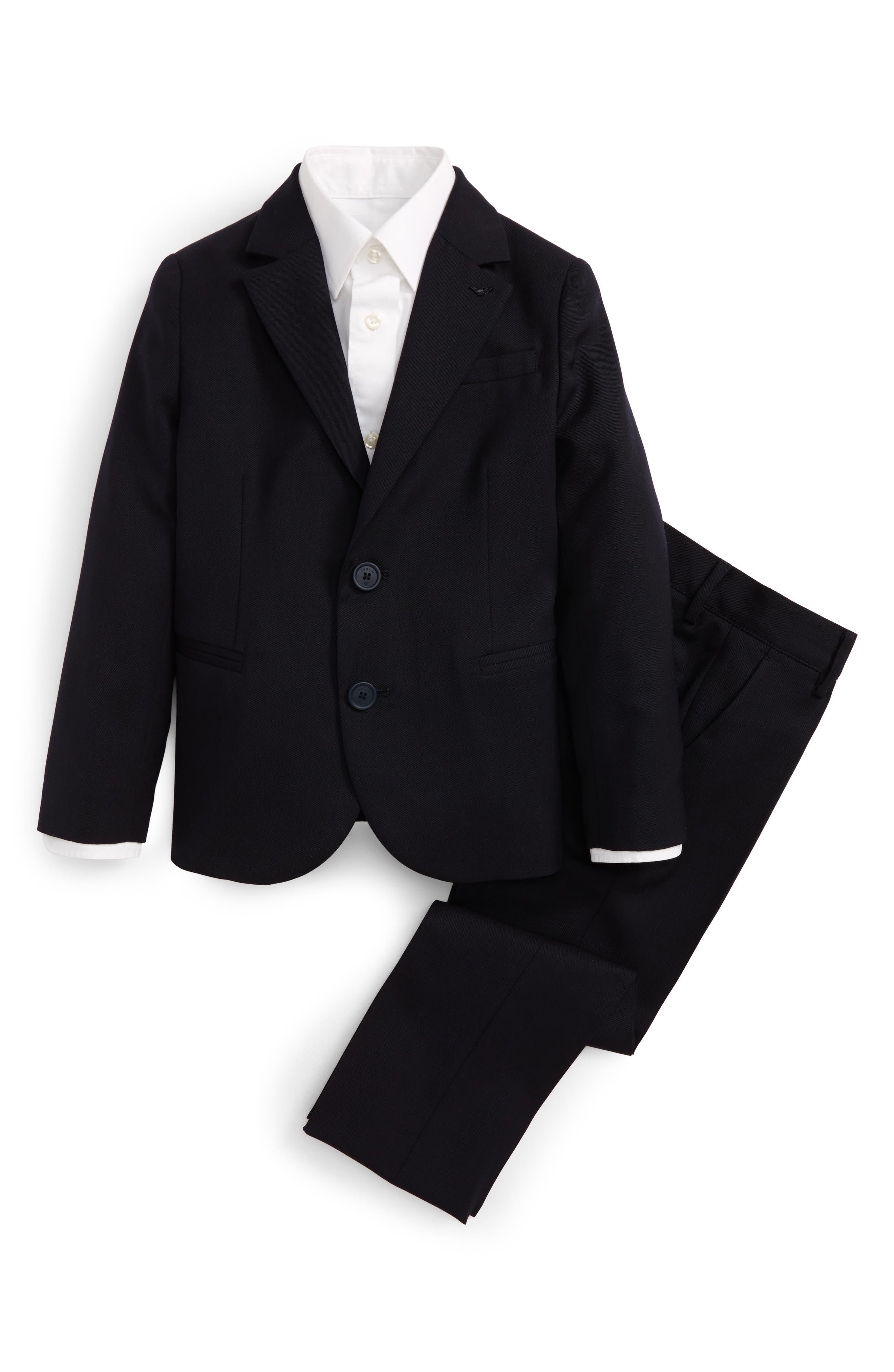 Armani Junior Wool Suit (Big Boys)