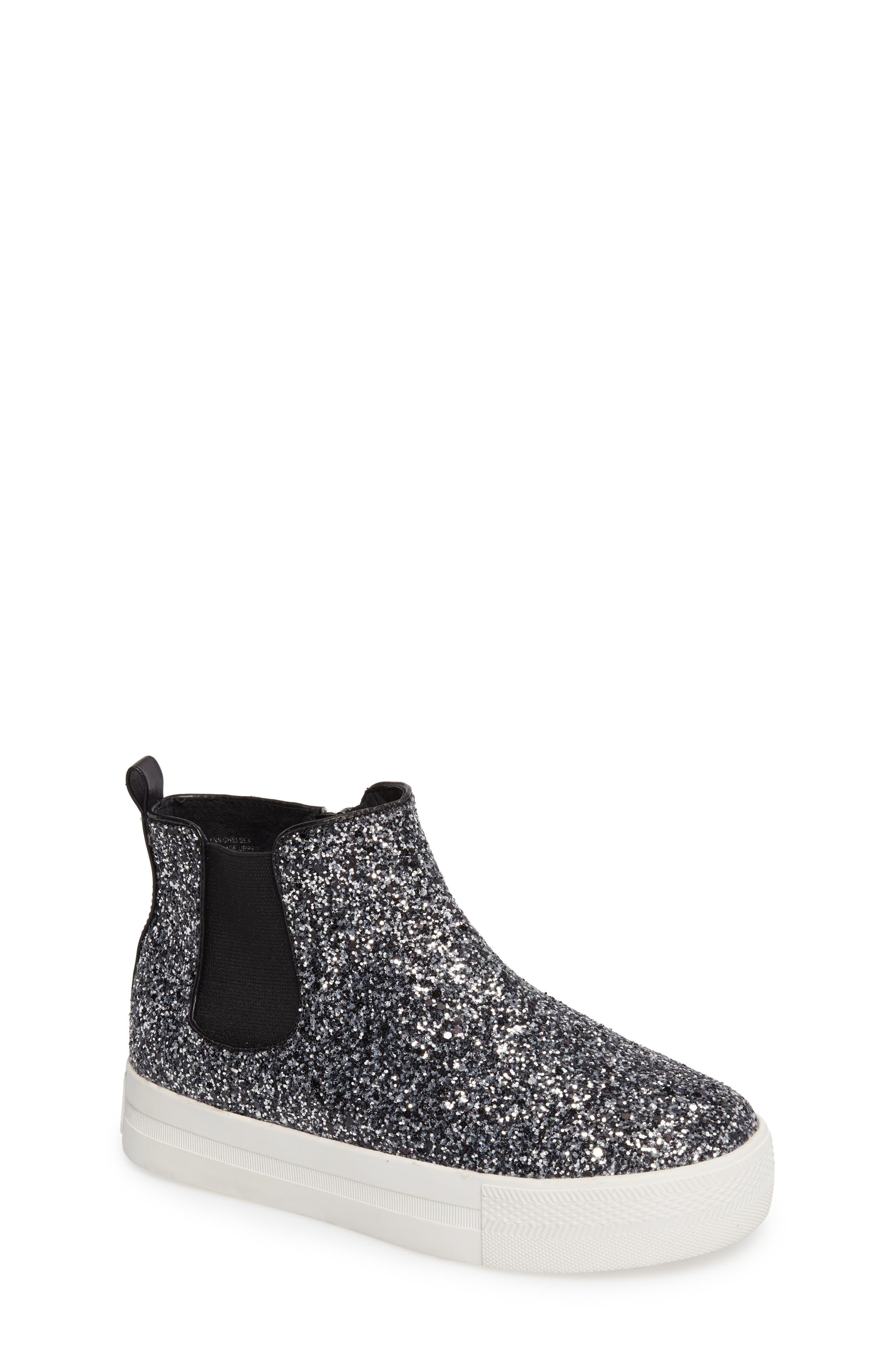 Ash Lynn Glittery Platform Sneaker Boot (Toddler, Little Kid & Big Kid)