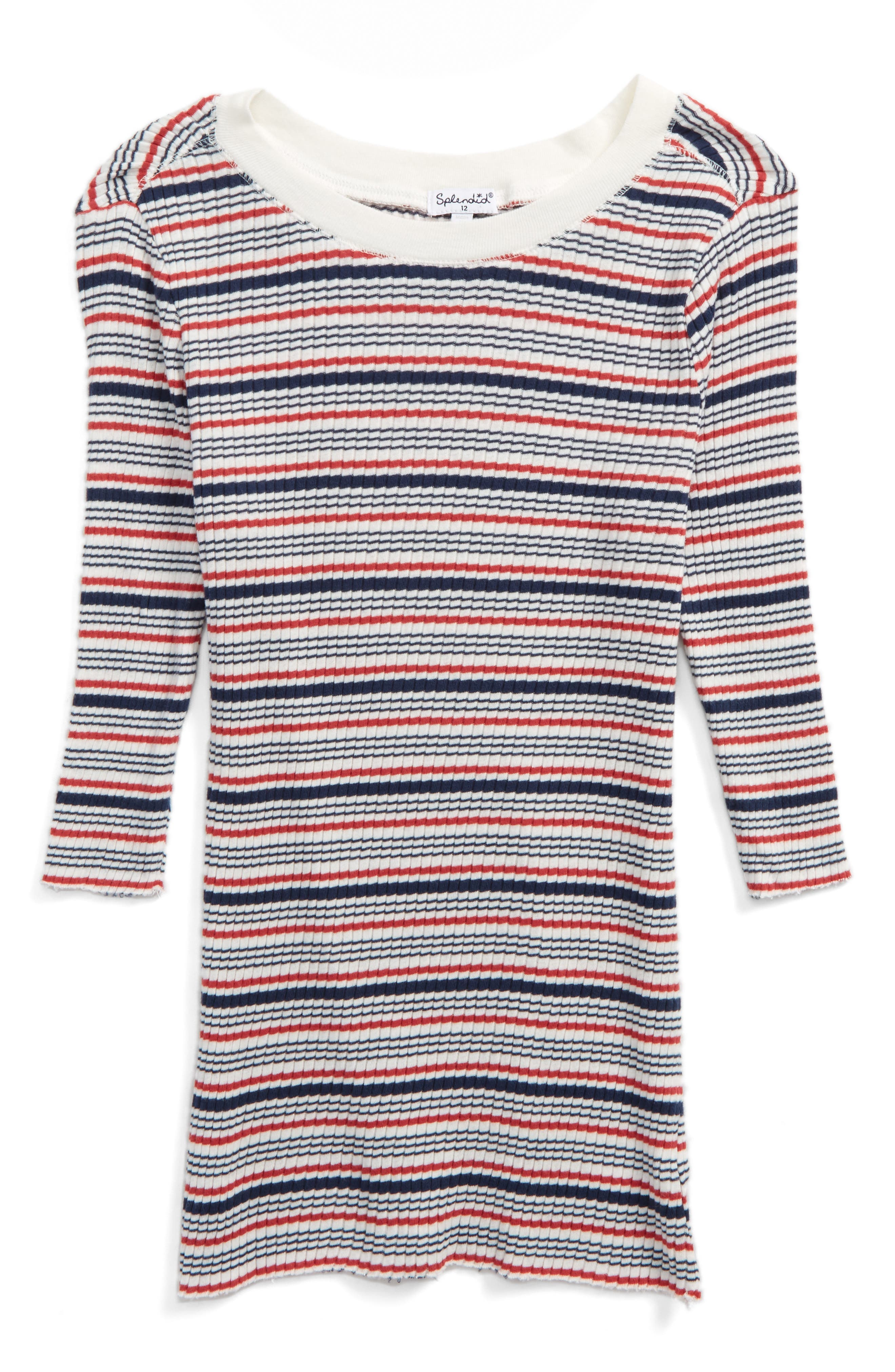 Splendid Stripe Tee (Big Girls)