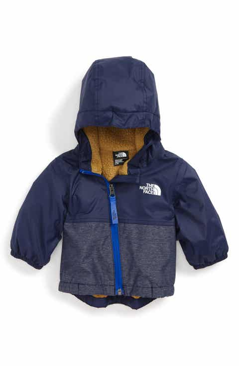 The North Face Warm Storm Hooded Waterproof Jacket Baby