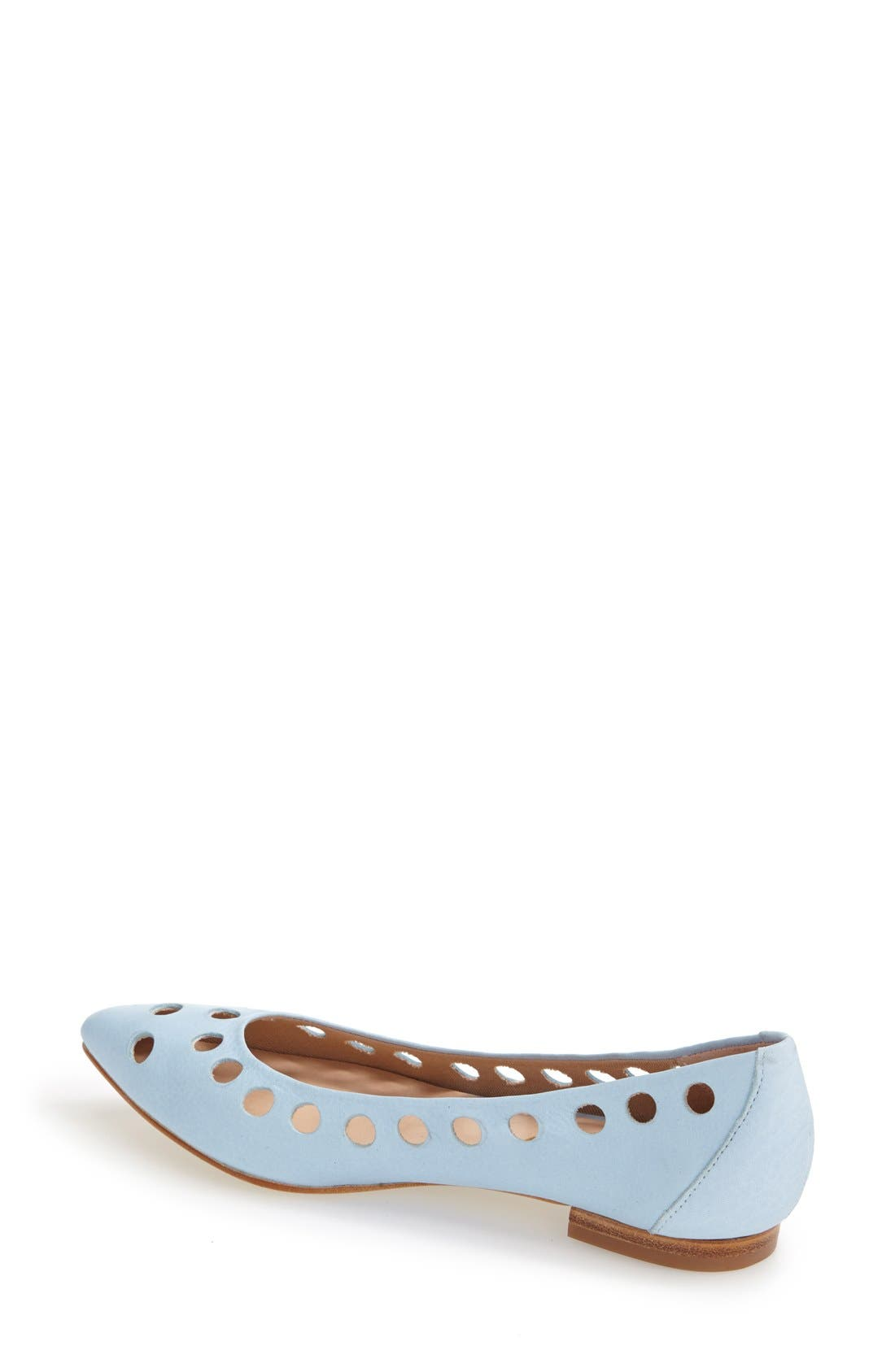 Alternate Image 2  - French Sole 'Naught' Laser Cut Ballet Flats (Women)