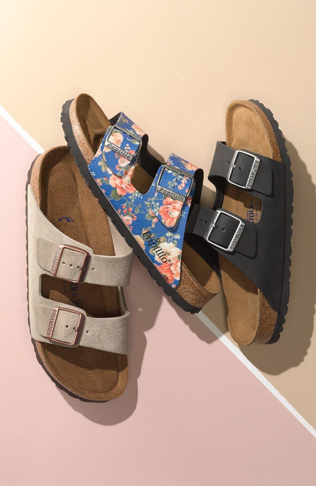 Alternate Image 6  - Birkenstock 'Arizona' Floral Print Sandal (Women)