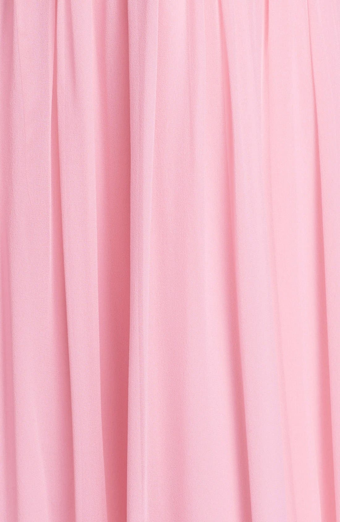 Alternate Image 3  - Donna Morgan 'Julie' Twist-Waist Silk Chiffon Gown