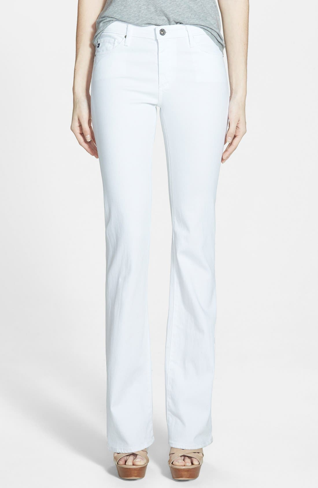 AG Angel Flare Pants (White)