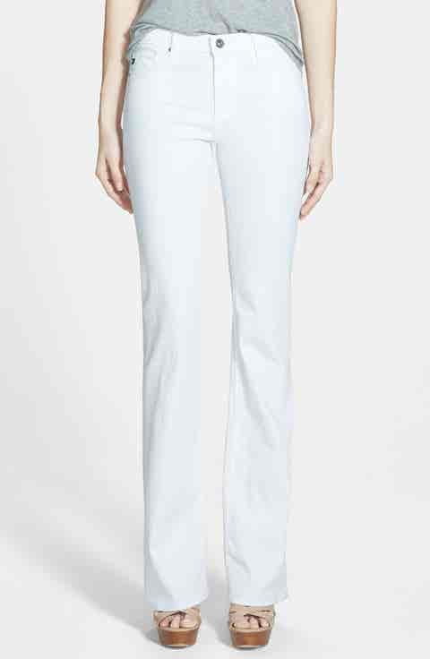 AG Angel Flare Pants (White)