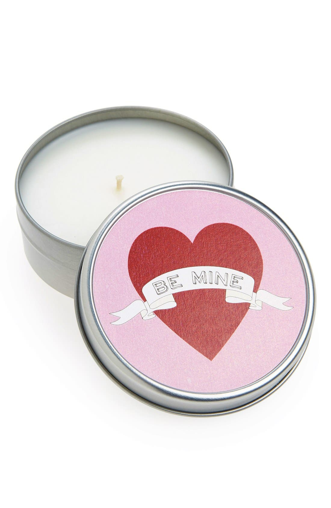 Main Image - Mine Design 'Be Mine' Travel Tin Candle