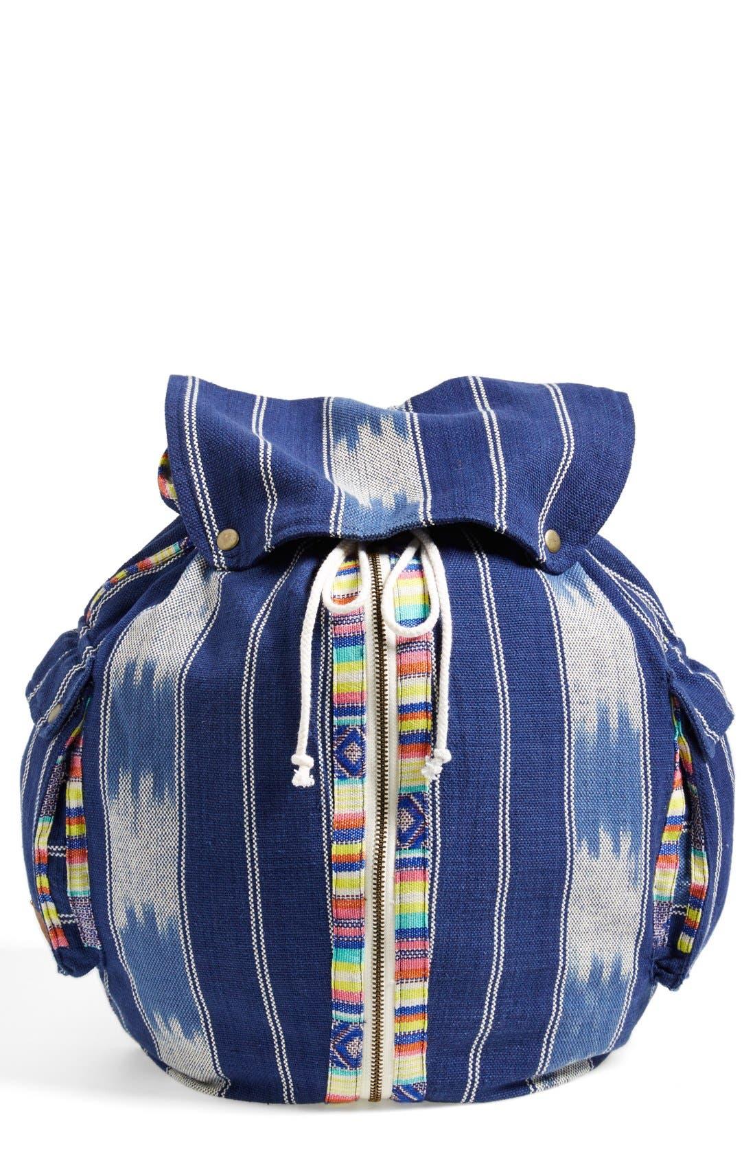 Alternate Image 1 Selected - Billabong 'Indian Surf' Woven Backpack