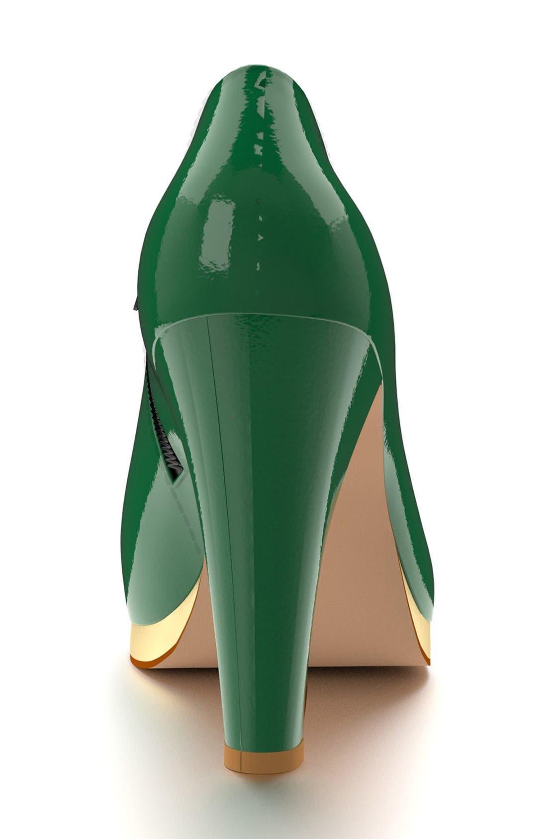 Alternate Image 5  - Shoes of Prey  Platform Ankle Boot (Women)