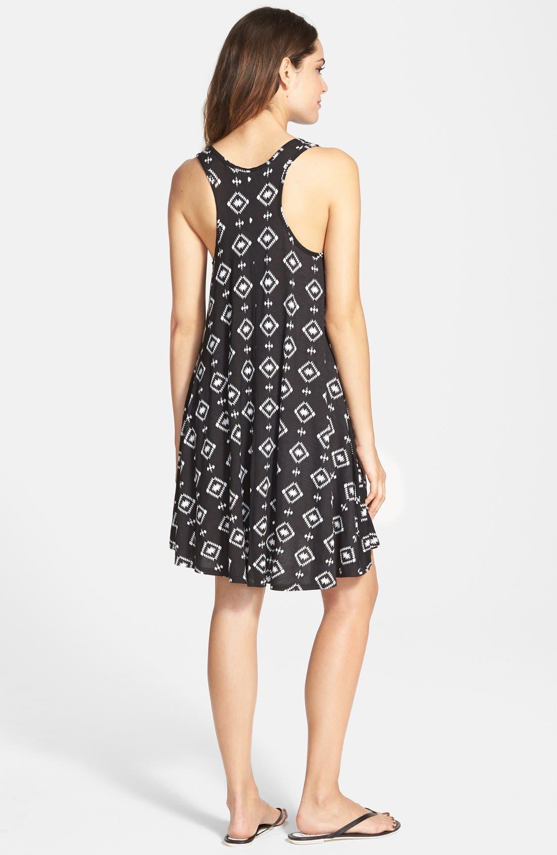 Alternate Image 2  - Socialite Print Tank Dress
