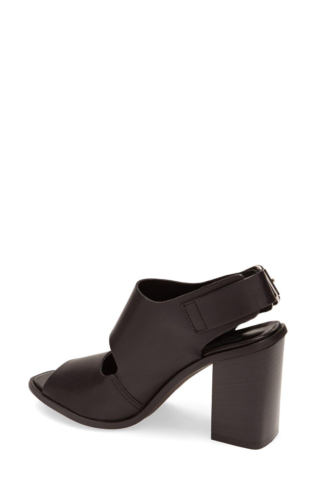 Alternate Image 2  - Topshop 'React' Block Heel Sandal (Women)