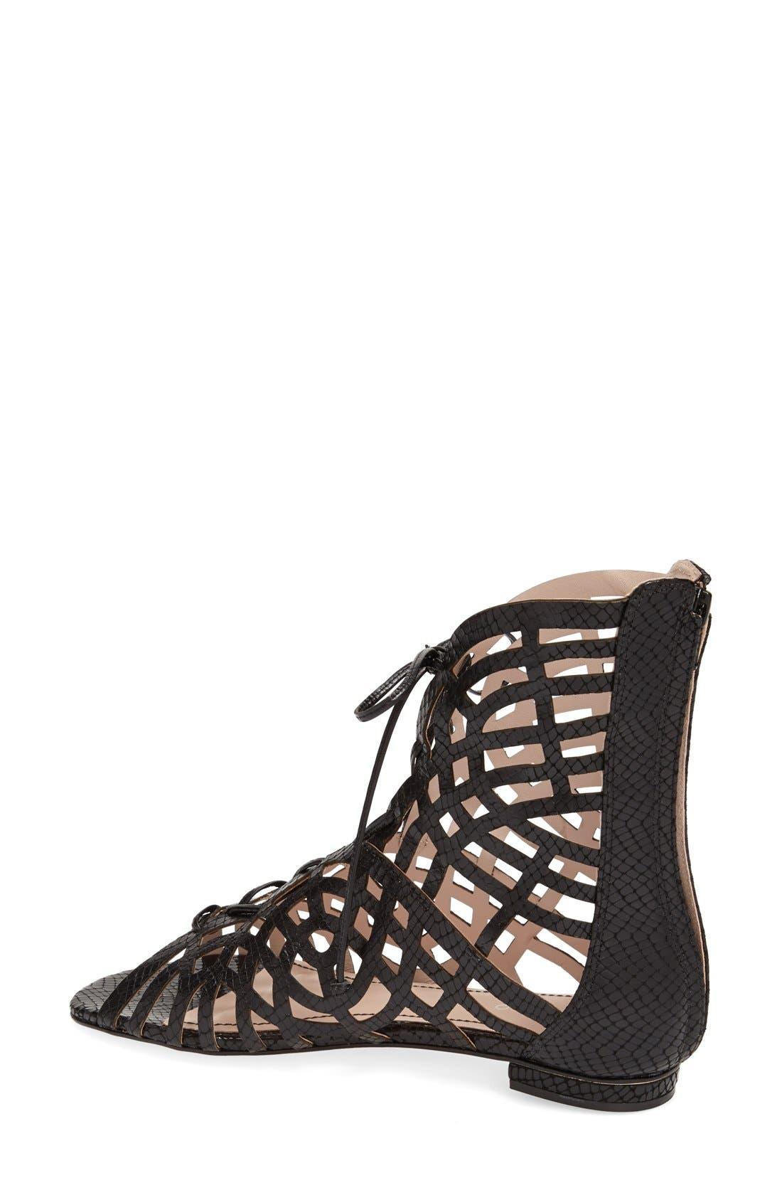 Alternate Image 2  - Klub Nico 'Jocelyn' Cutout Gladiator Sandal (Women)