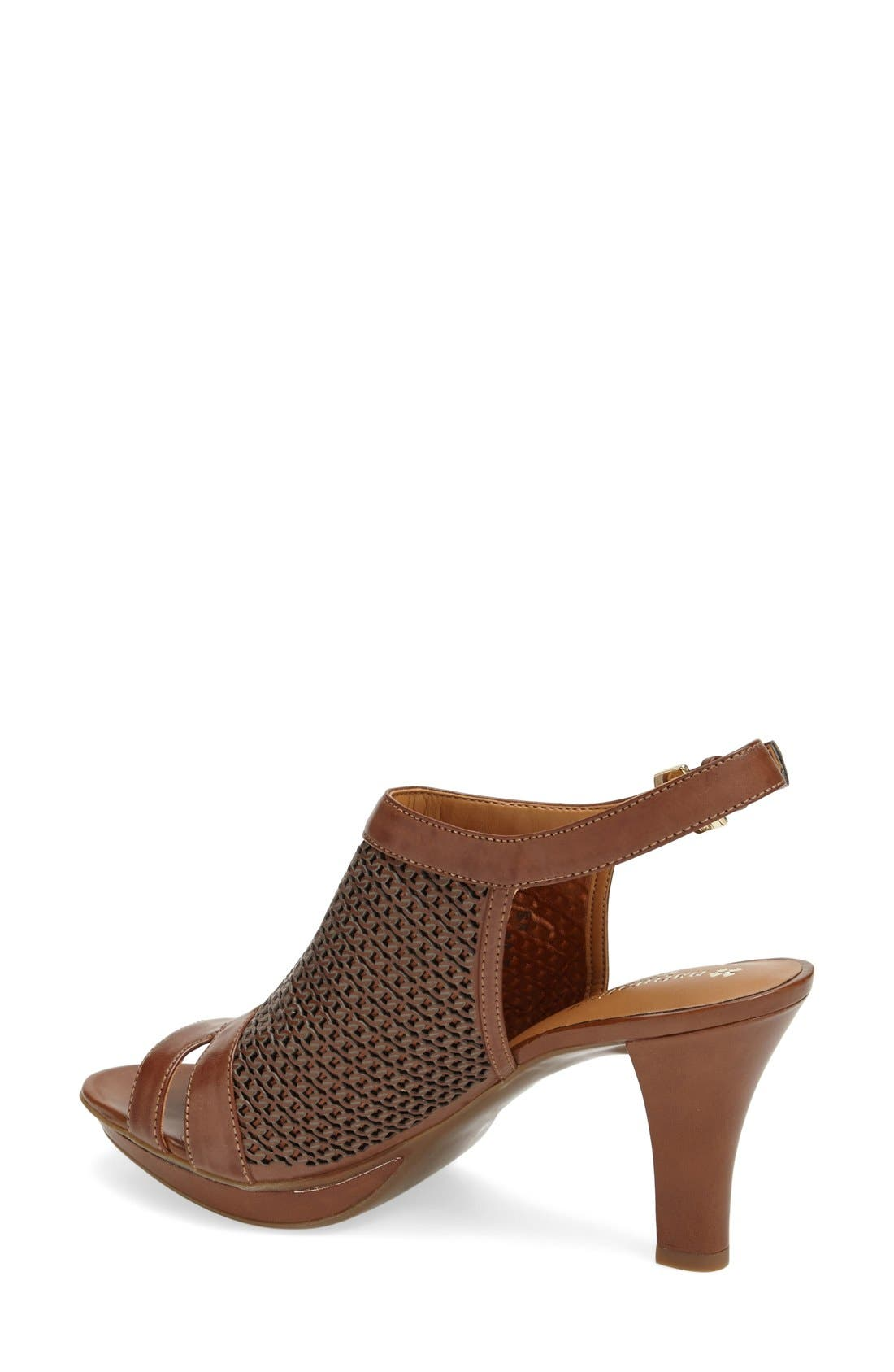 Alternate Image 2  - Naturalizer 'Dania' Ankle Strap Sandal (Women)