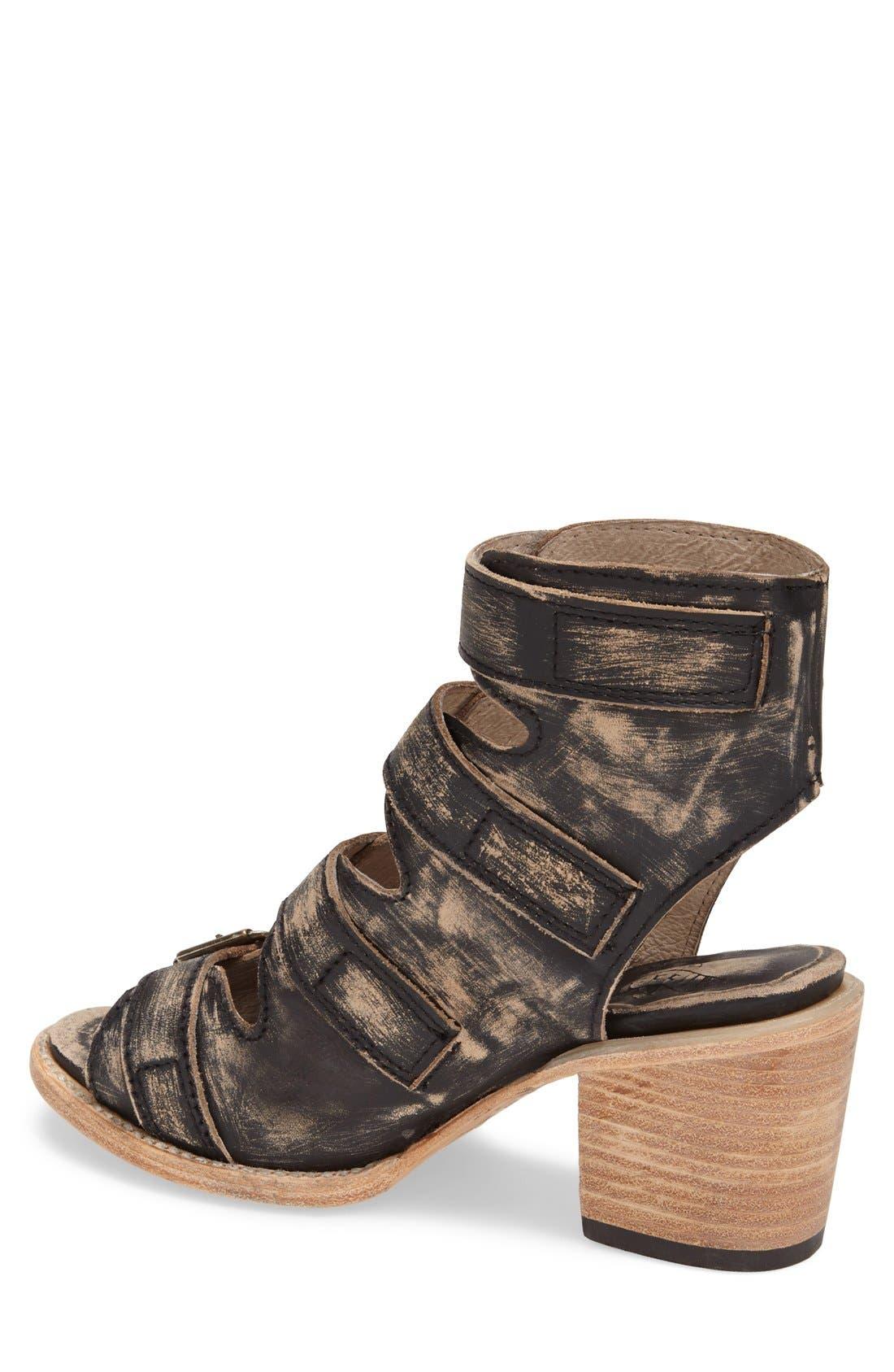 Alternate Image 2  - Freebird by Steven 'Quail' Open Toe Leather Bootie (Women)