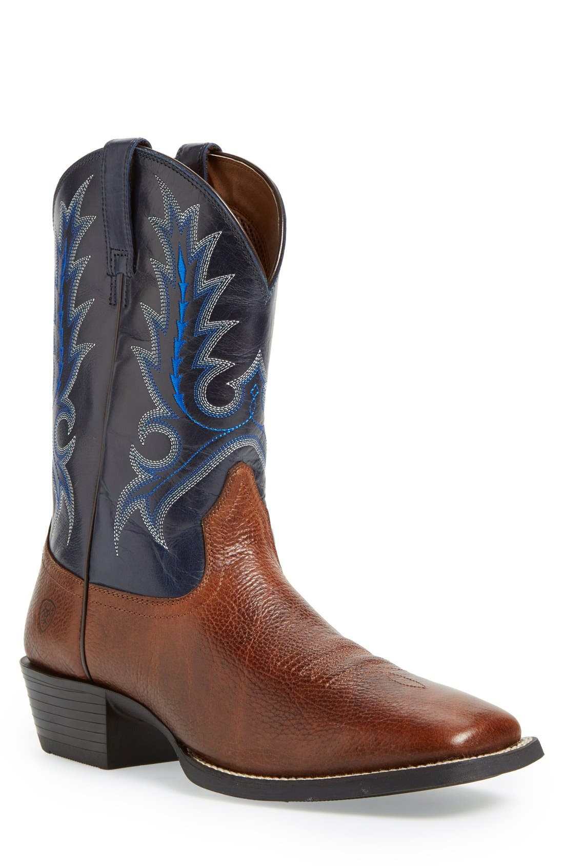 Ariat 'Sport Outfitter' Leather Cowboy Boot (Men)