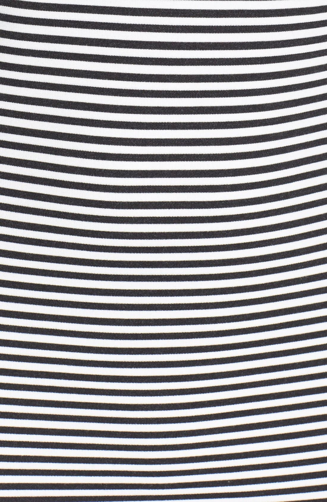 Alternate Image 3  - French Connection 'Licorice Lines' Stripe Jersey Shift Dress