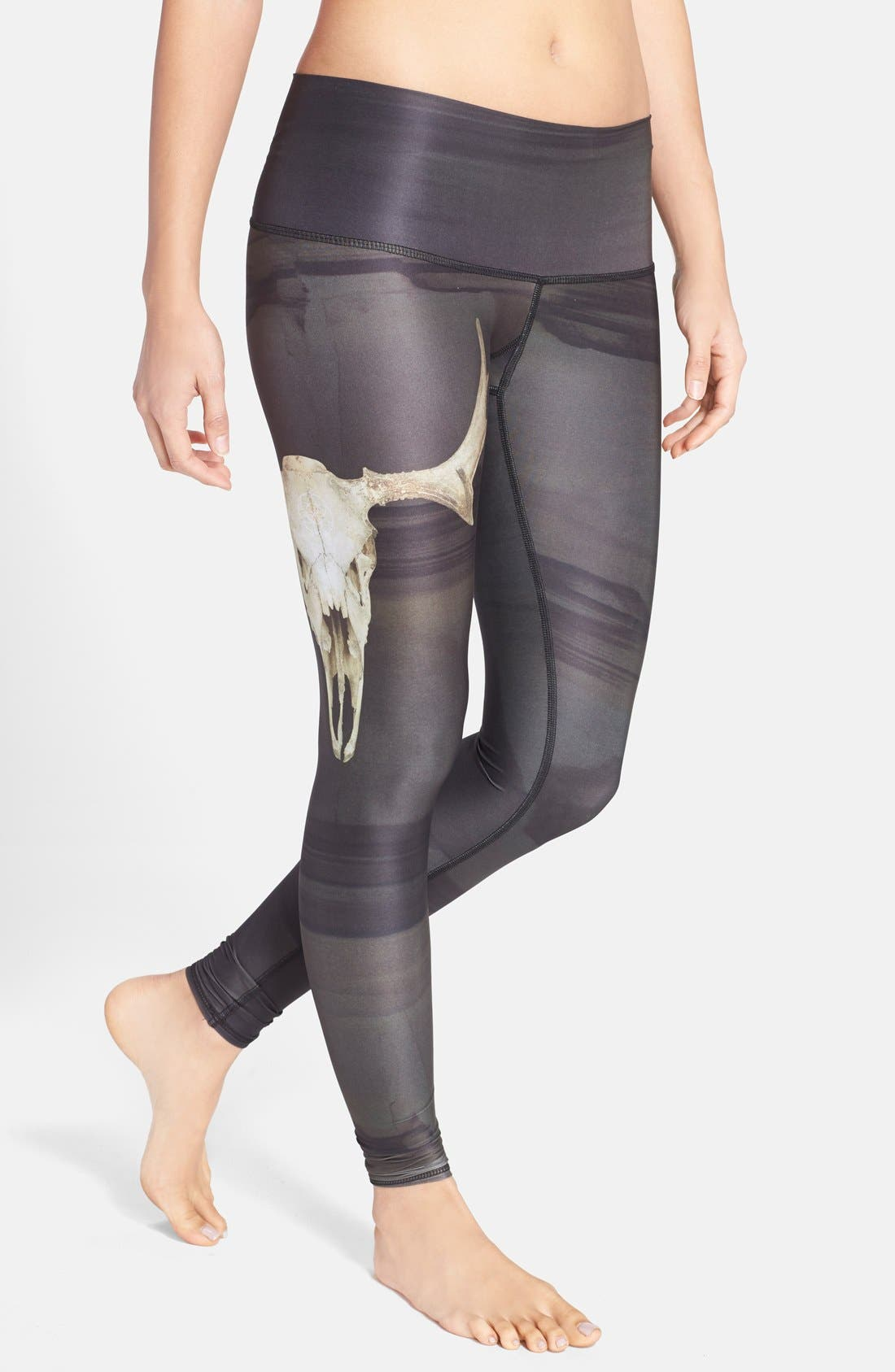 TEEKI 'Deer Medicine Hot Pant' Leggings