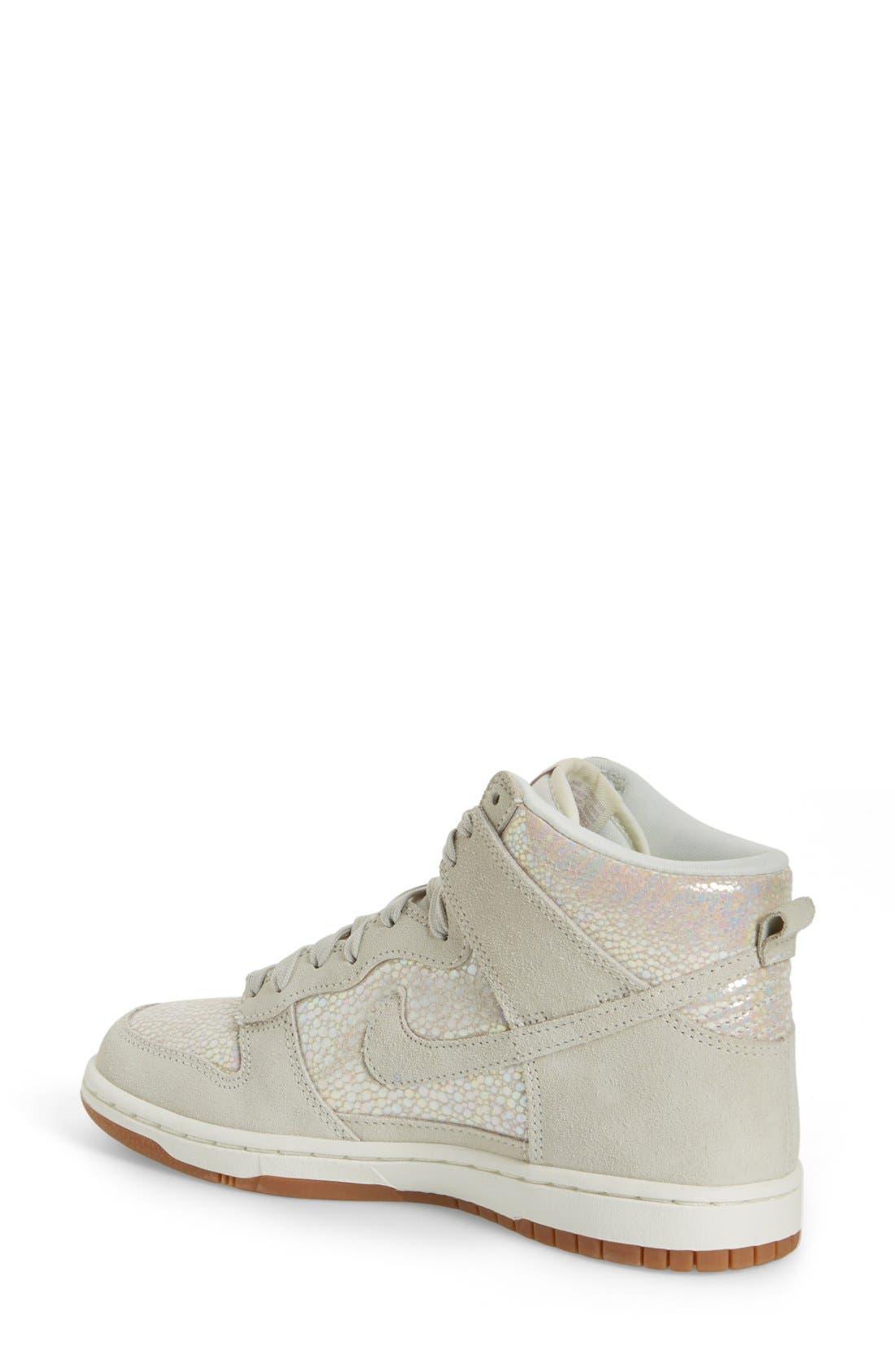 Alternate Image 7  - Nike 'Dunk High' Sneaker (Women)