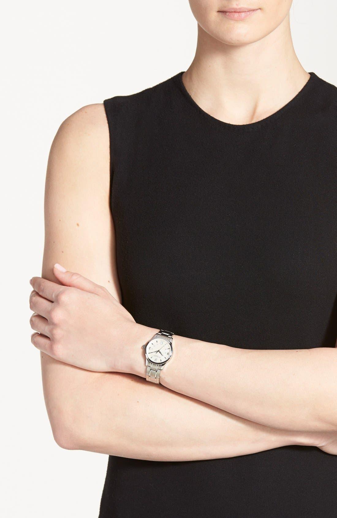 Alternate Image 2  - Victorinox Swiss Army® 'Alliance' Bracelet Watch, 30mm