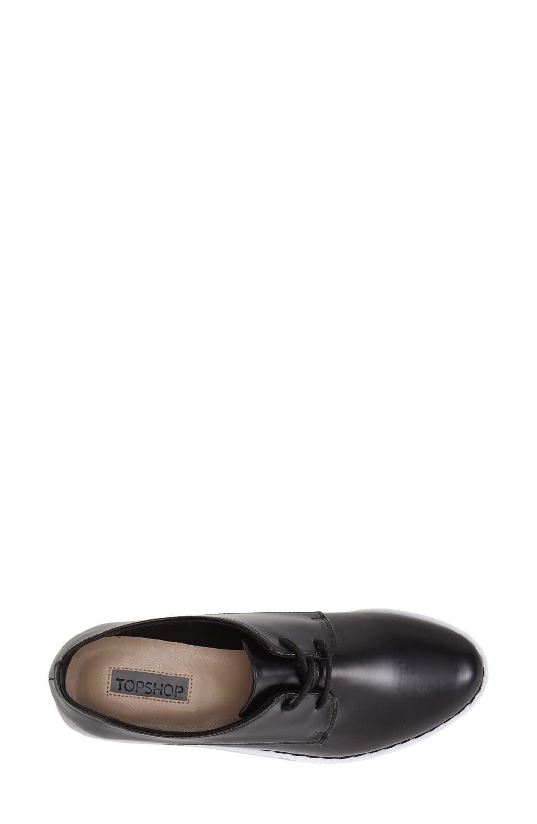 Alternate Image 3  - Topshop 'Kisser Eva' Platform Sneaker (Women)