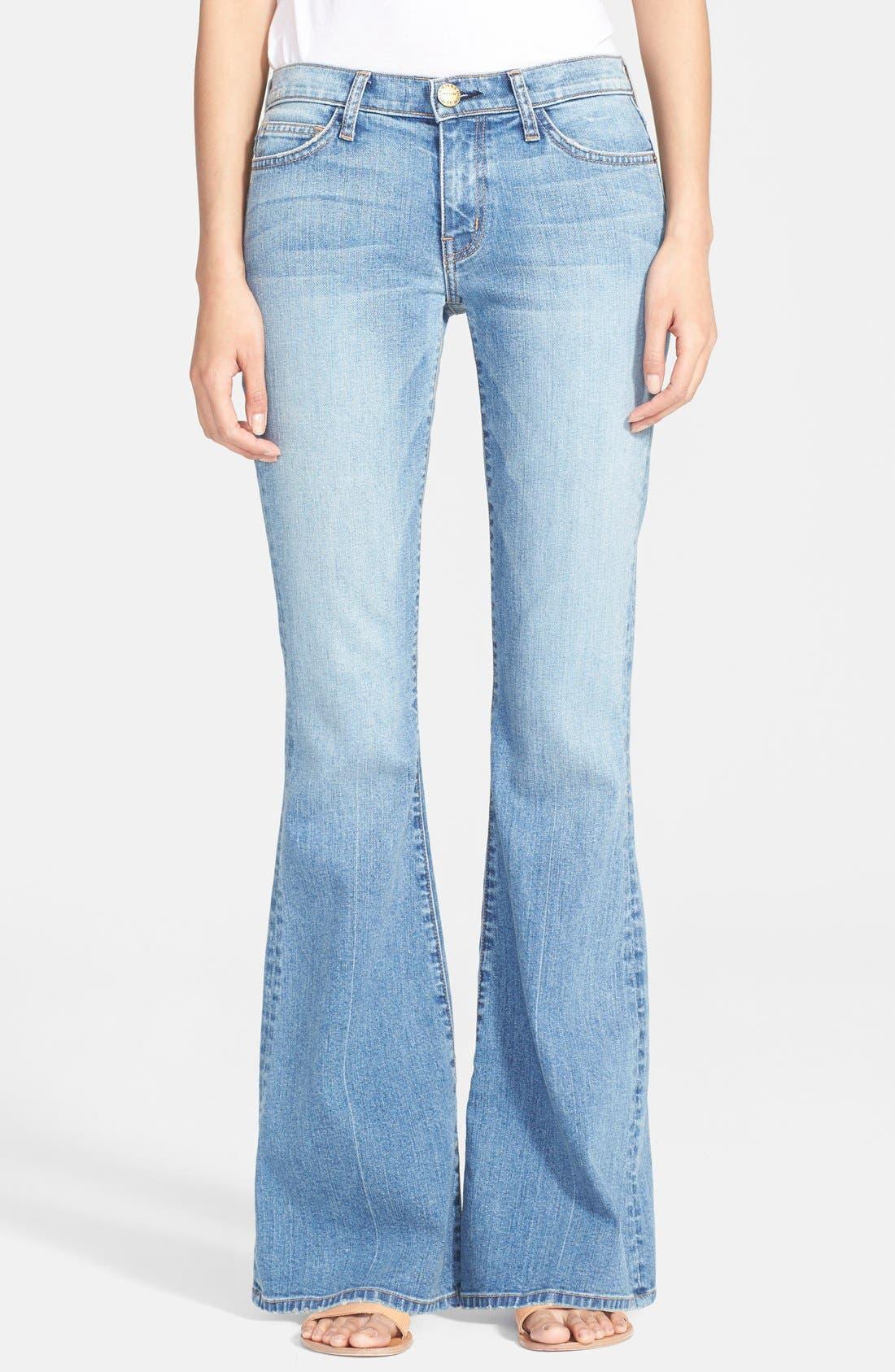 Main Image - Current/Elliott Bell Bottom Jeans (Heirloom)