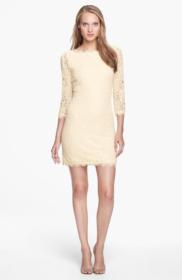 Diane von furstenberg 39 zarita 39 lace sheath dress nordstrom for Diane von furstenberg clothes