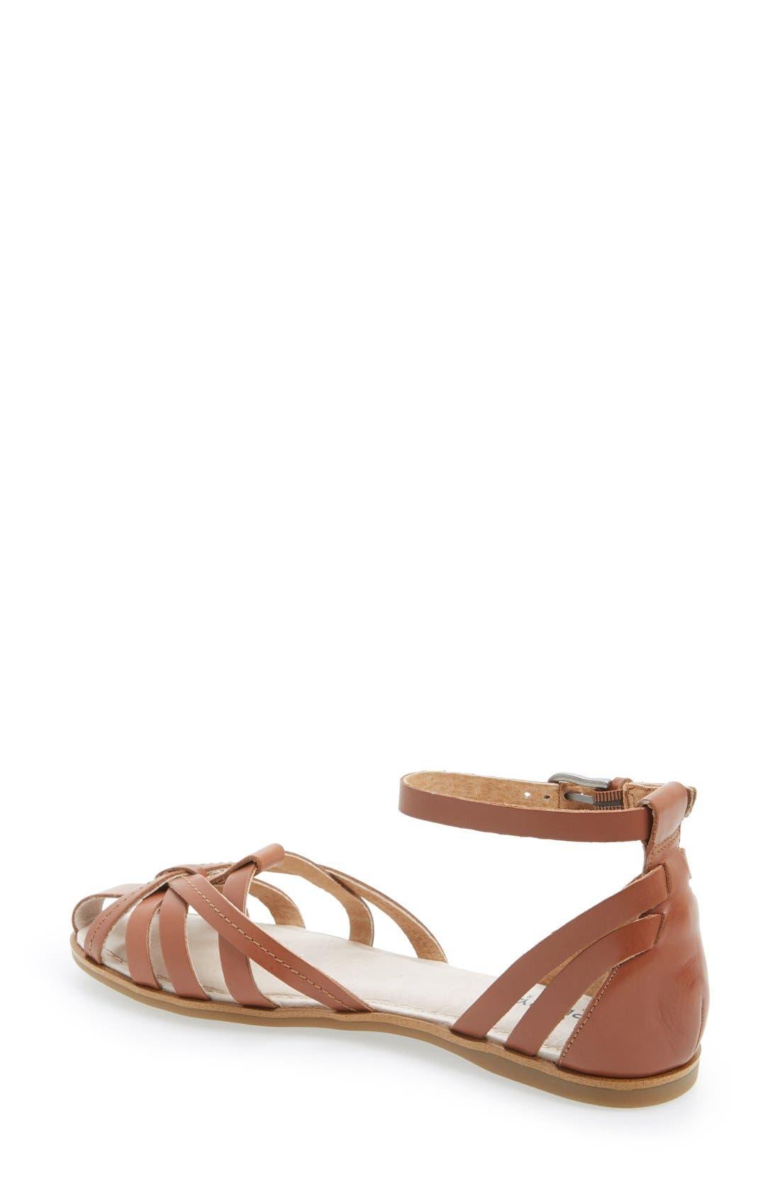 Alternate Image 2  - Sperry 'June' Leather Ankle Strap Sandal (Women)
