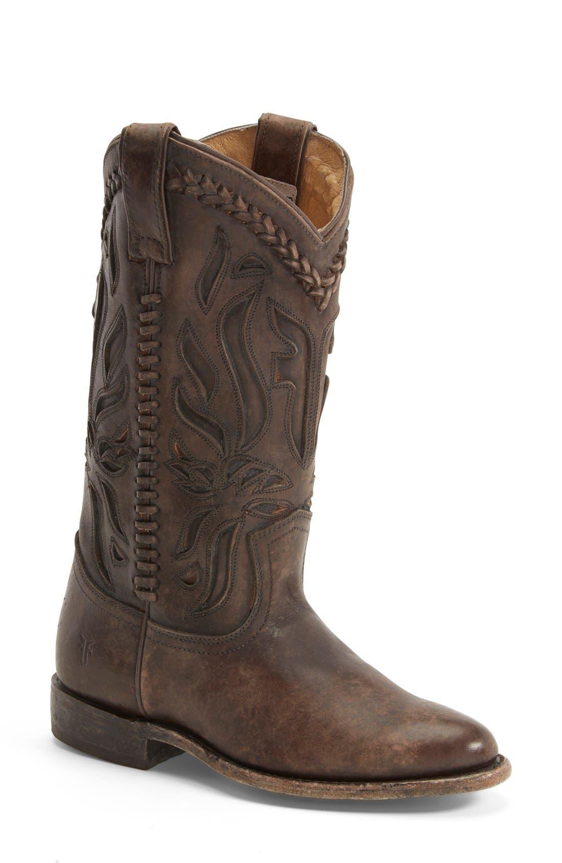 Main Image - Frye 'Wyatt Overlay' Boot