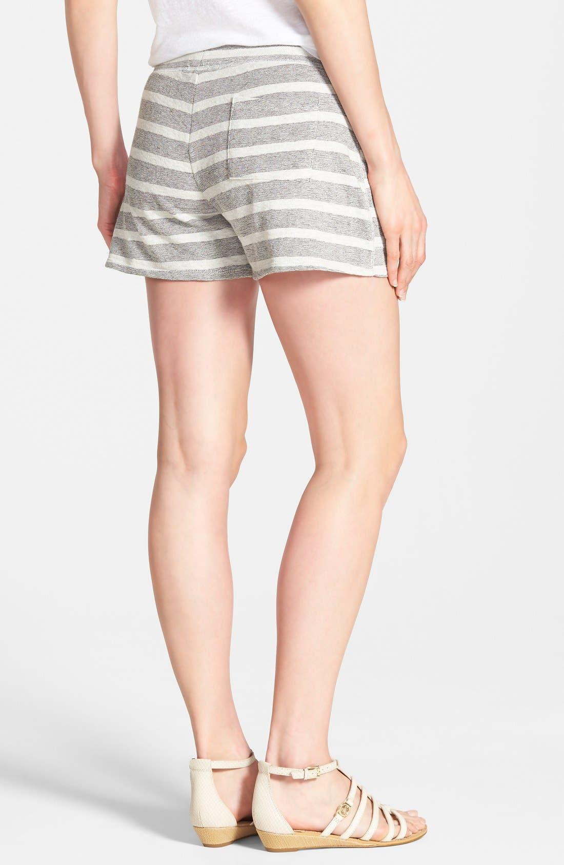 Alternate Image 2  - Lucky Brand Stripe Cotton Shorts