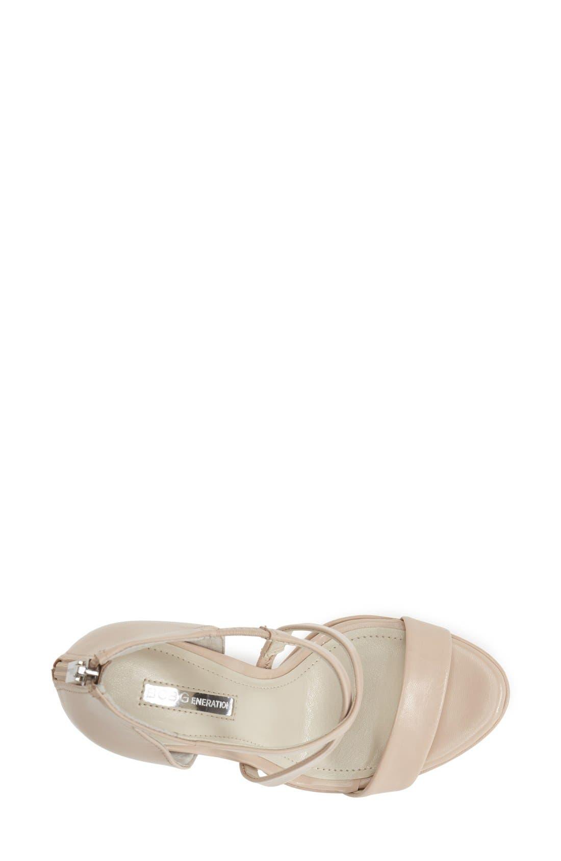 Alternate Image 3  - BCBGeneration 'Gidget' Leather Platform Sandal (Women)