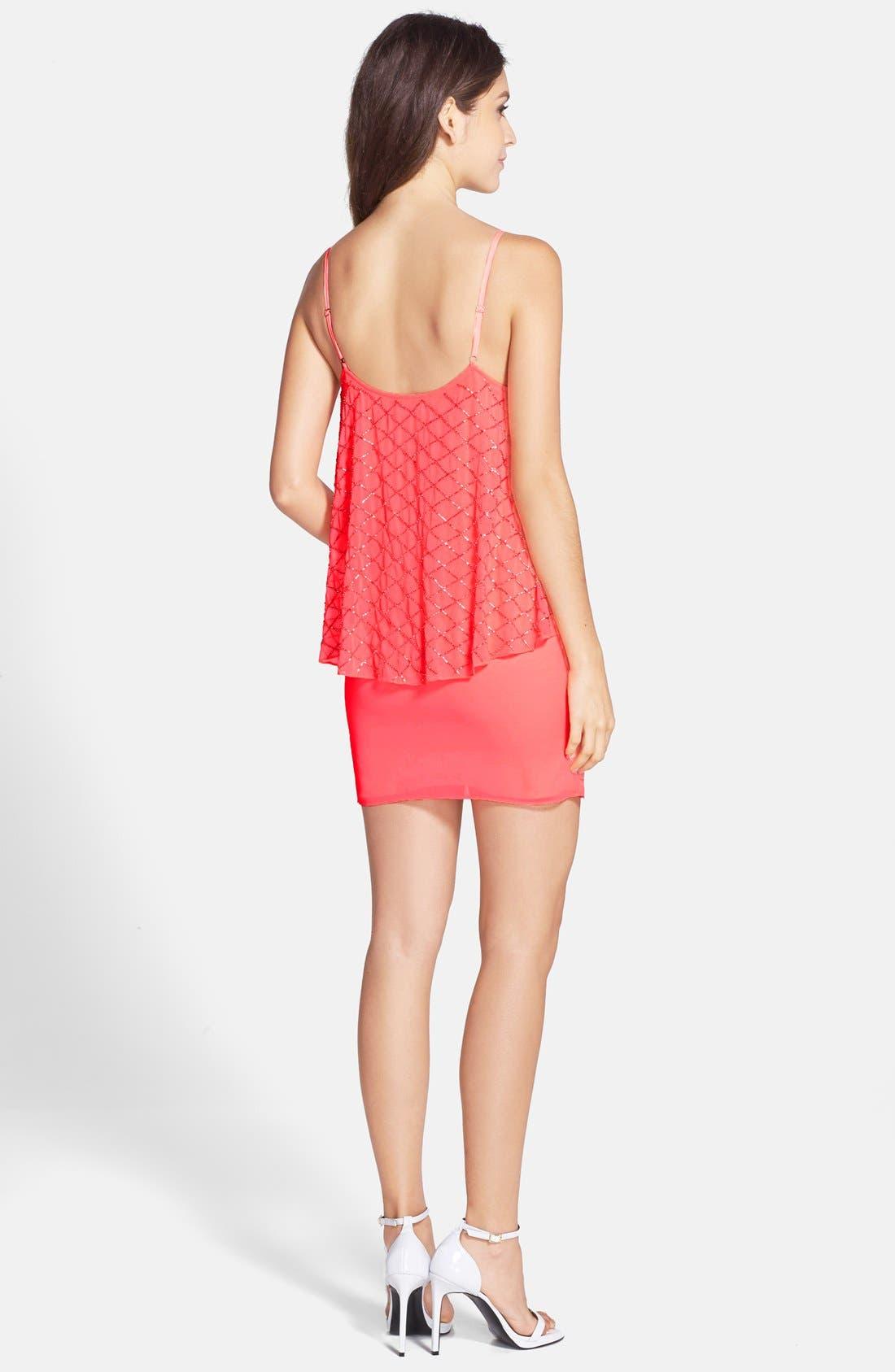 Alternate Image 2  - Needle & Thread Beaded Popover Dress