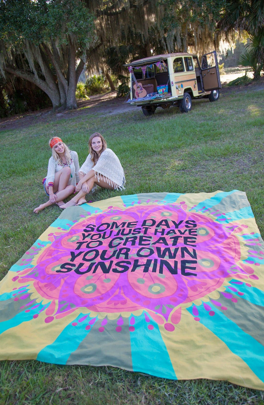 Alternate Image 2  - Natural Life 'Create Your Own Sunshine' Lightweight Blanket