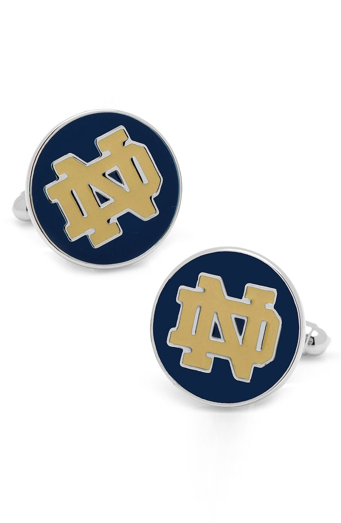 CUFFLINKS, INC. 'Notre Dame Fighting Irish' Cuff Links
