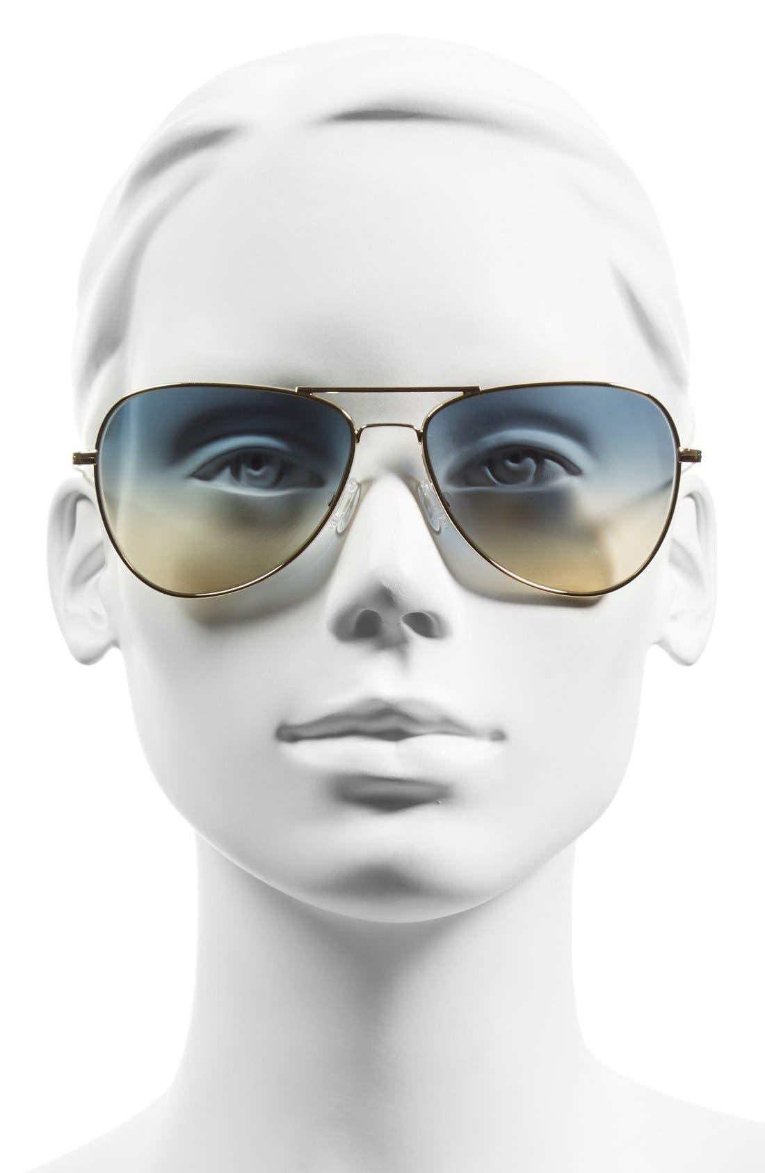 Alternate Image 3  - Oliver Peoples x Isabel Marant 'Matt' 60mm Aviator Sunglasses