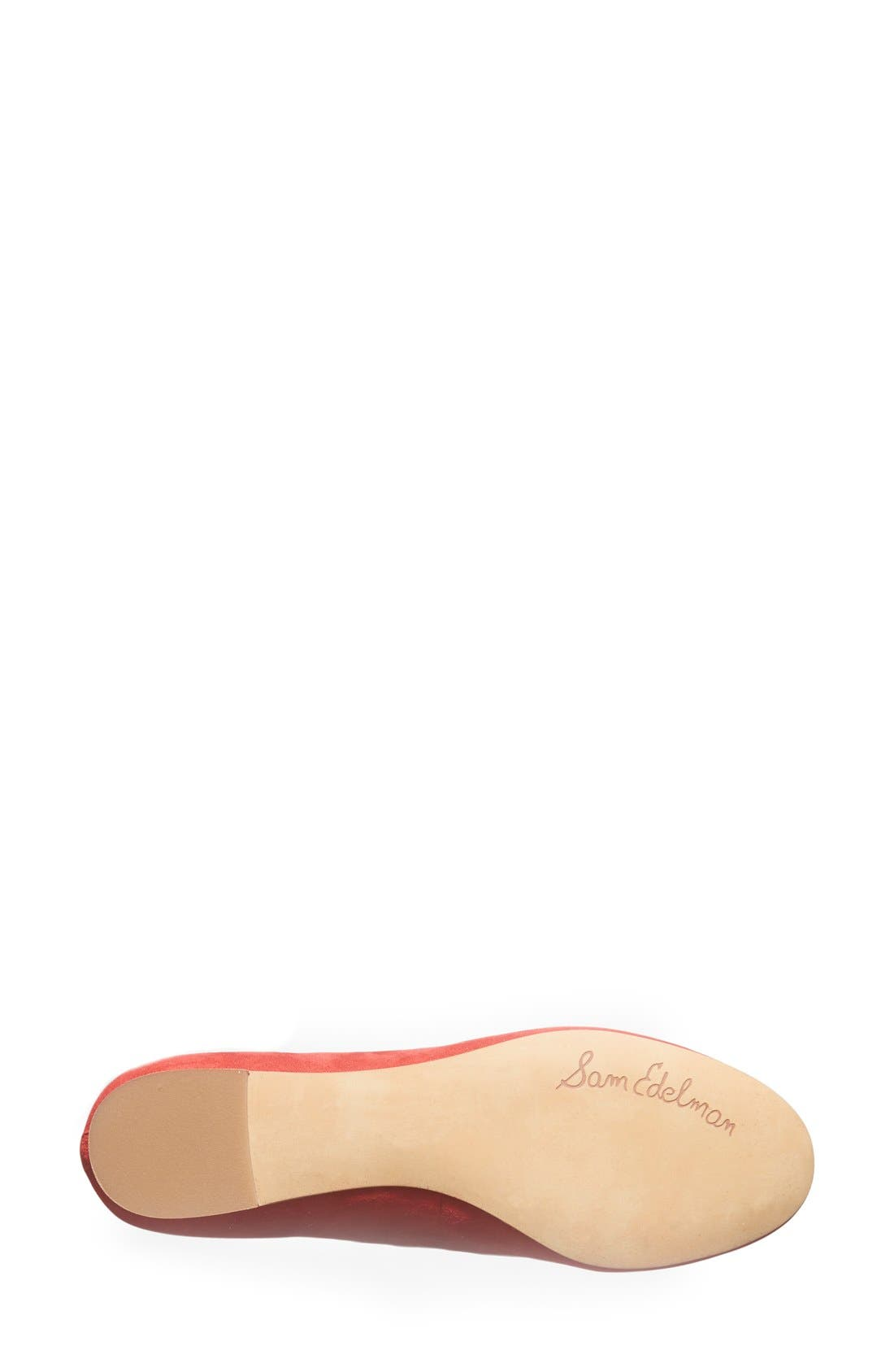 Alternate Image 4  - Sam Edelman 'Alaine' Scalloped Topline Flat (Women)