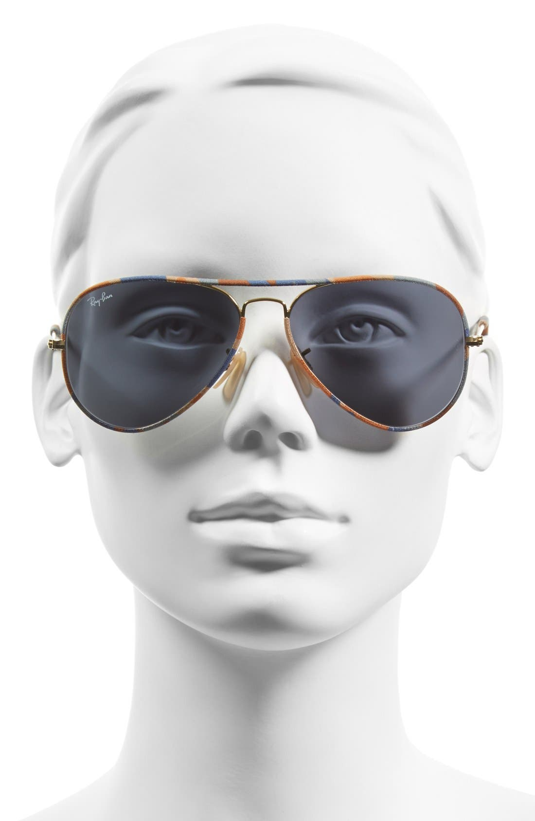Alternate Image 2  - Ray-Ban 58mm Aviator Sunglasses