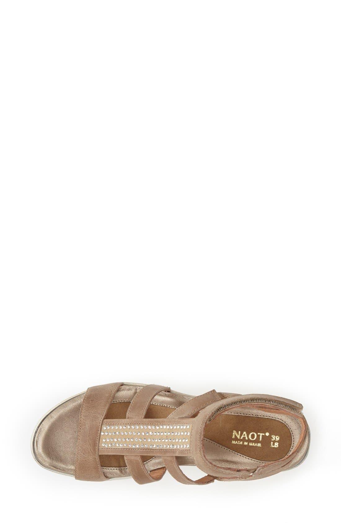 Alternate Image 3  - Naot 'Mystery' Platform Wedge Sandal (Women)