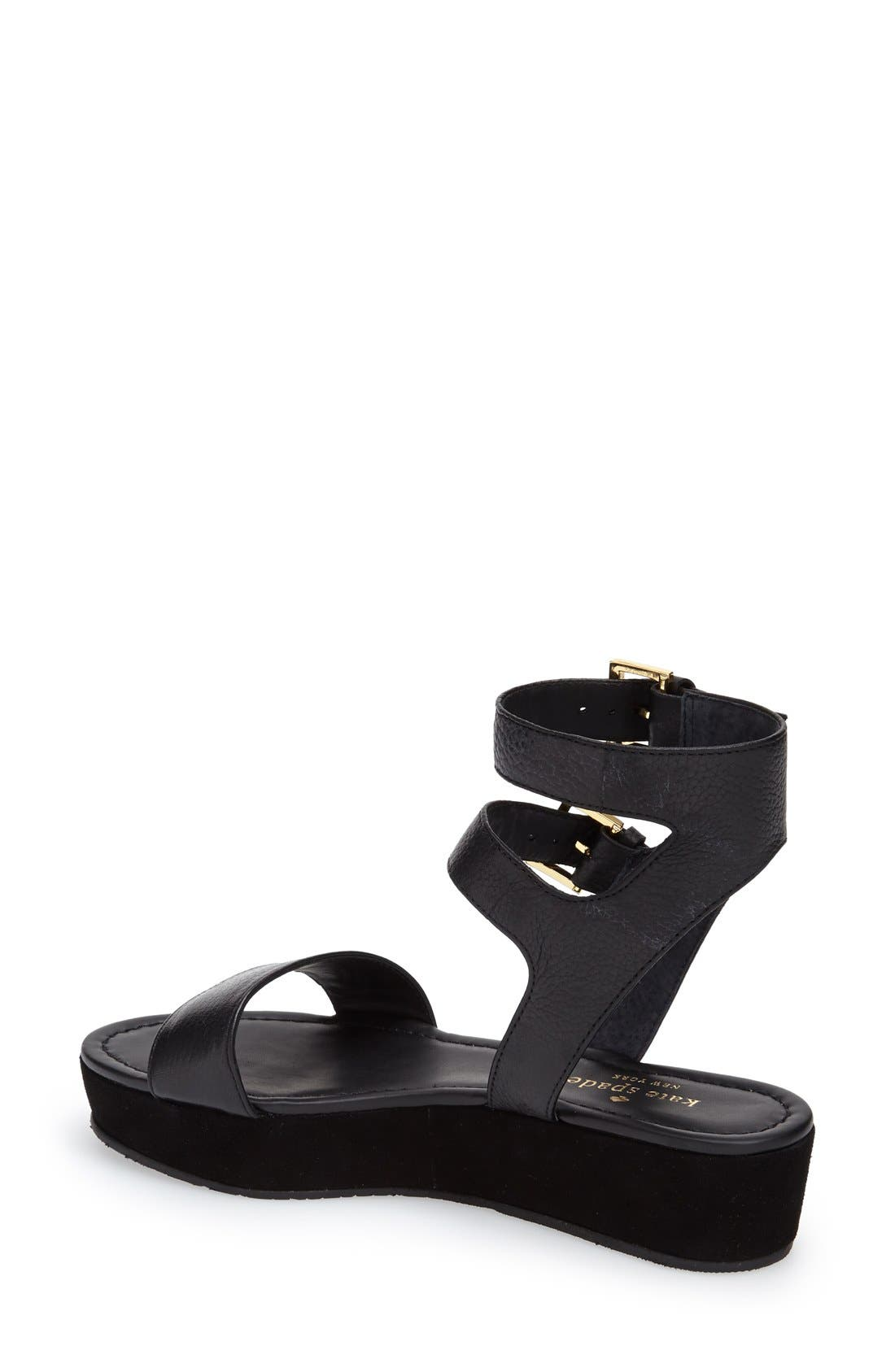 Alternate Image 2  - kate spade new york 'troy' platform sandal (Women)