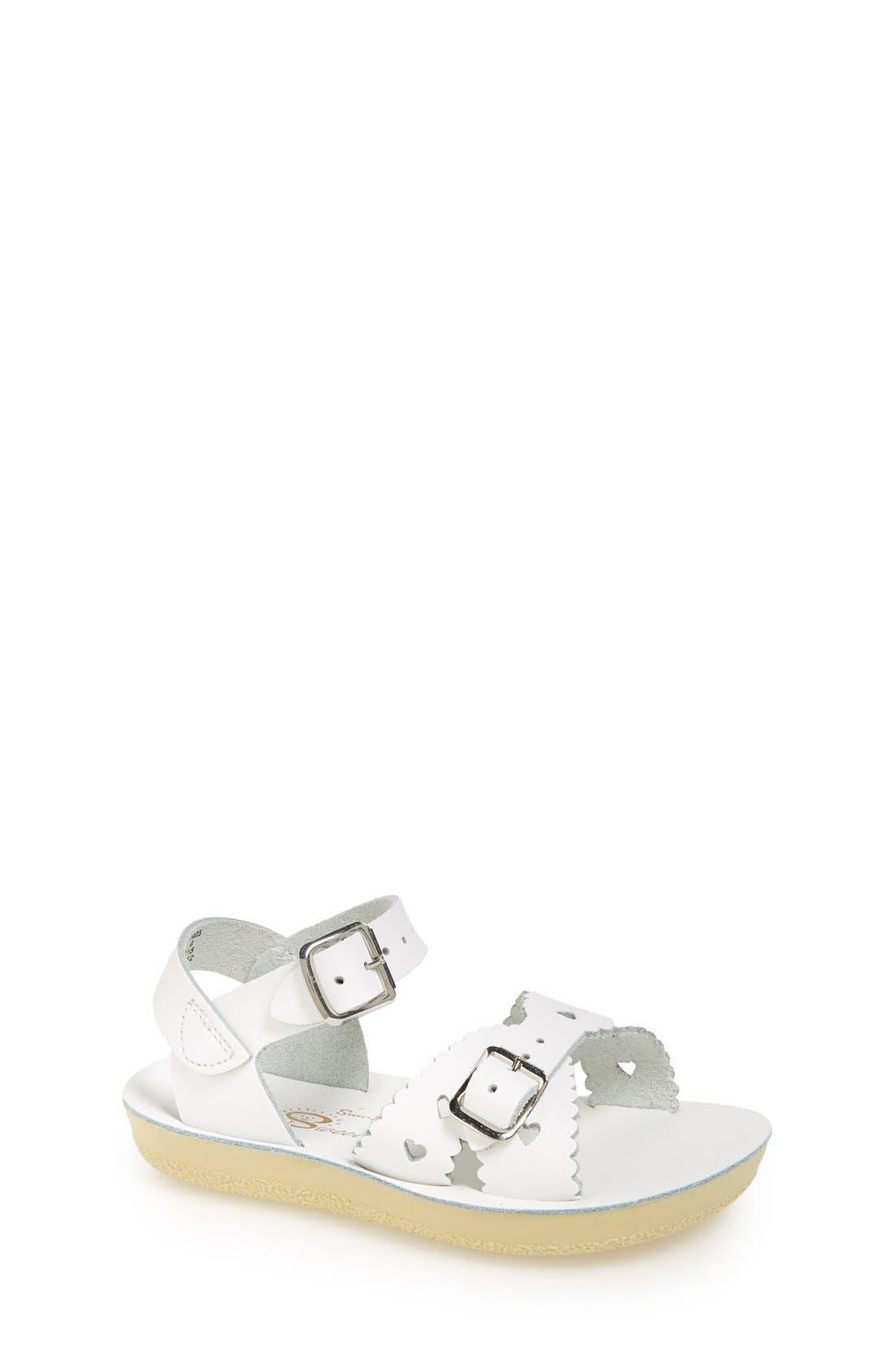 Salt Water Sandals by Hoy 'Sweetheart' Sandal (Walker, Toddler & Little Kid)