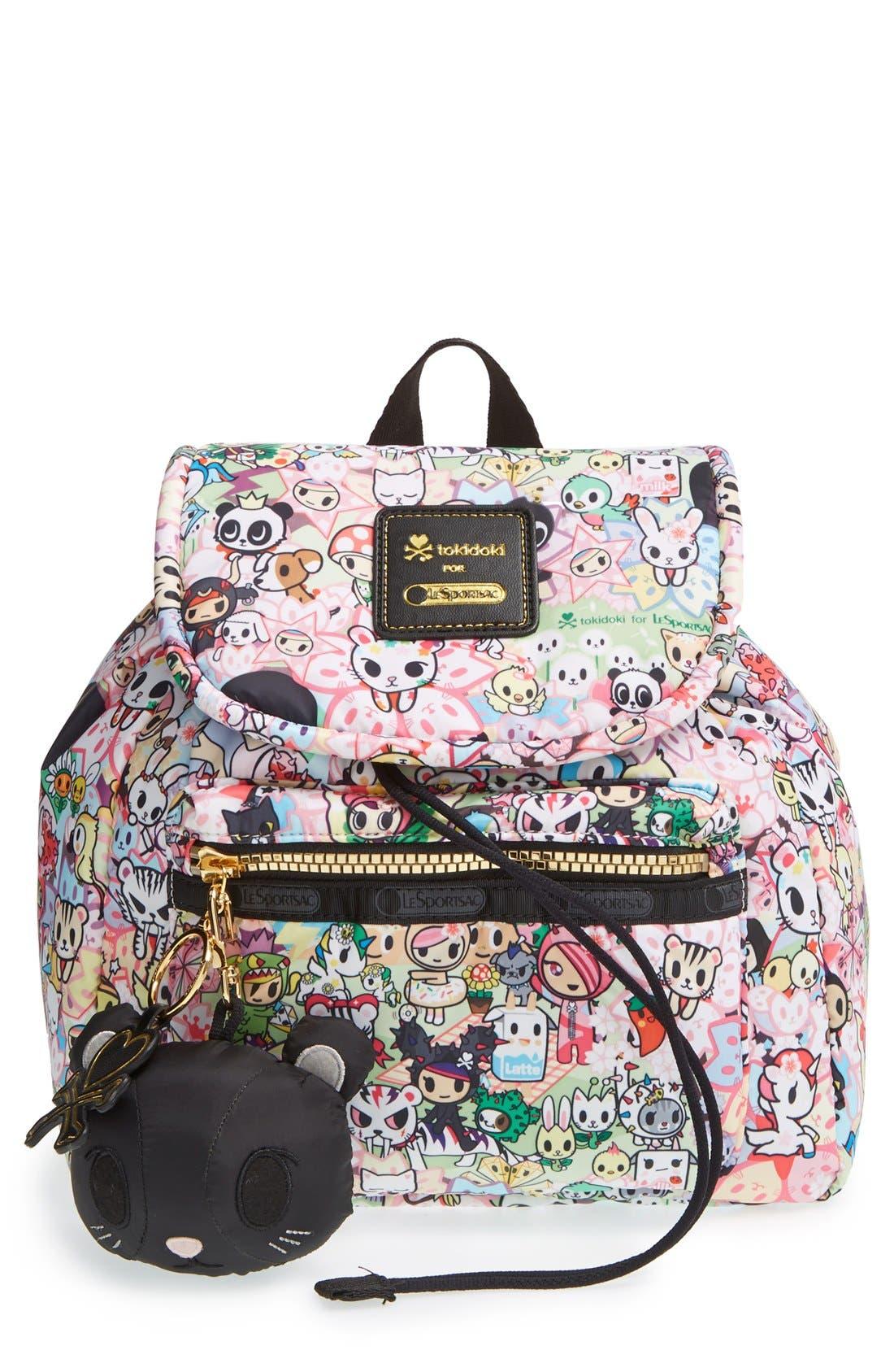 Alternate Image 1 Selected - tokidoki x LeSportsac 'Piccolina' Nylon Backpack