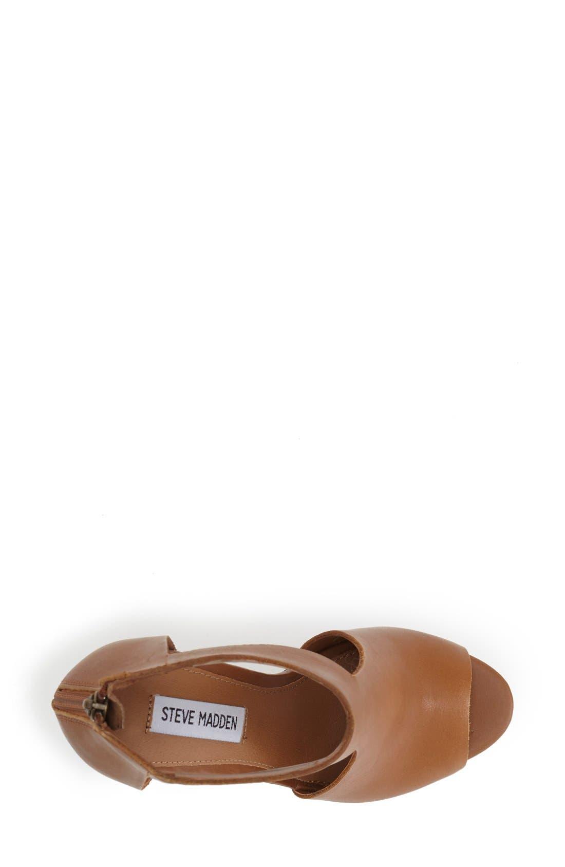 Alternate Image 3  - Steve Madden 'Gunnther' Platform Wedge Sandal (Women)